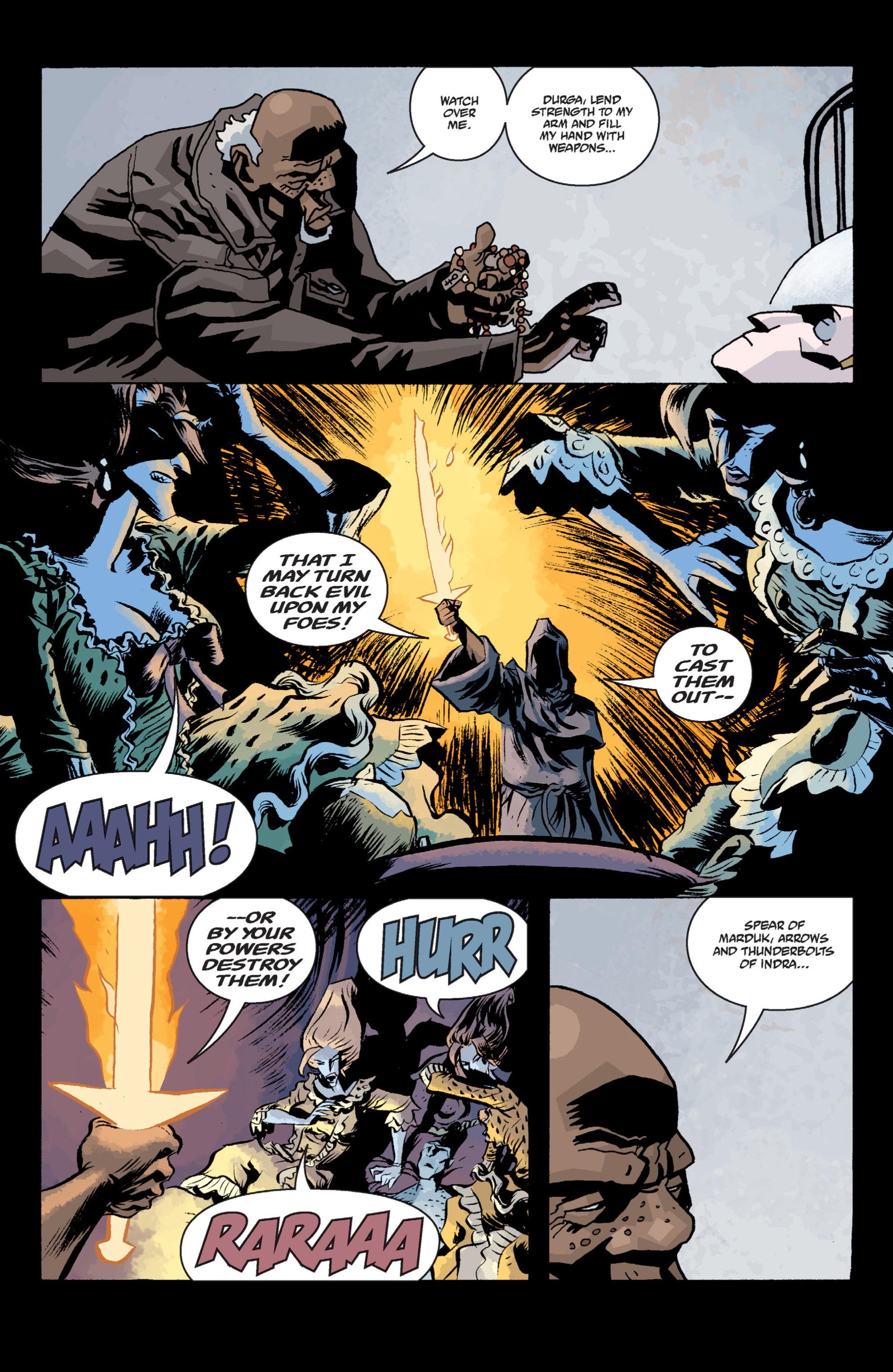 Read online B.P.R.D. (2003) comic -  Issue # TPB 13 - 121