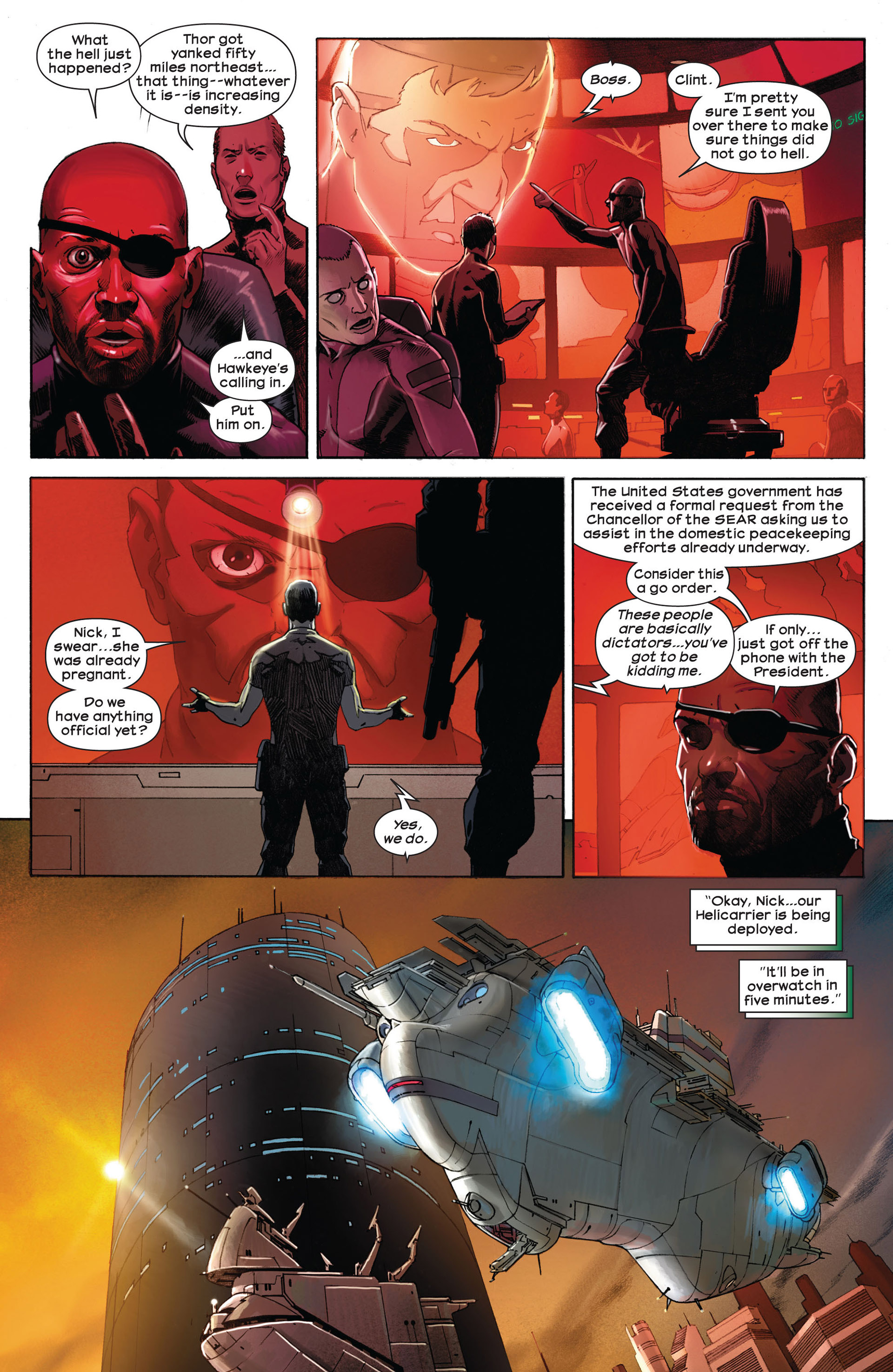 Read online Ultimate Comics Ultimates comic -  Issue #1 - 16
