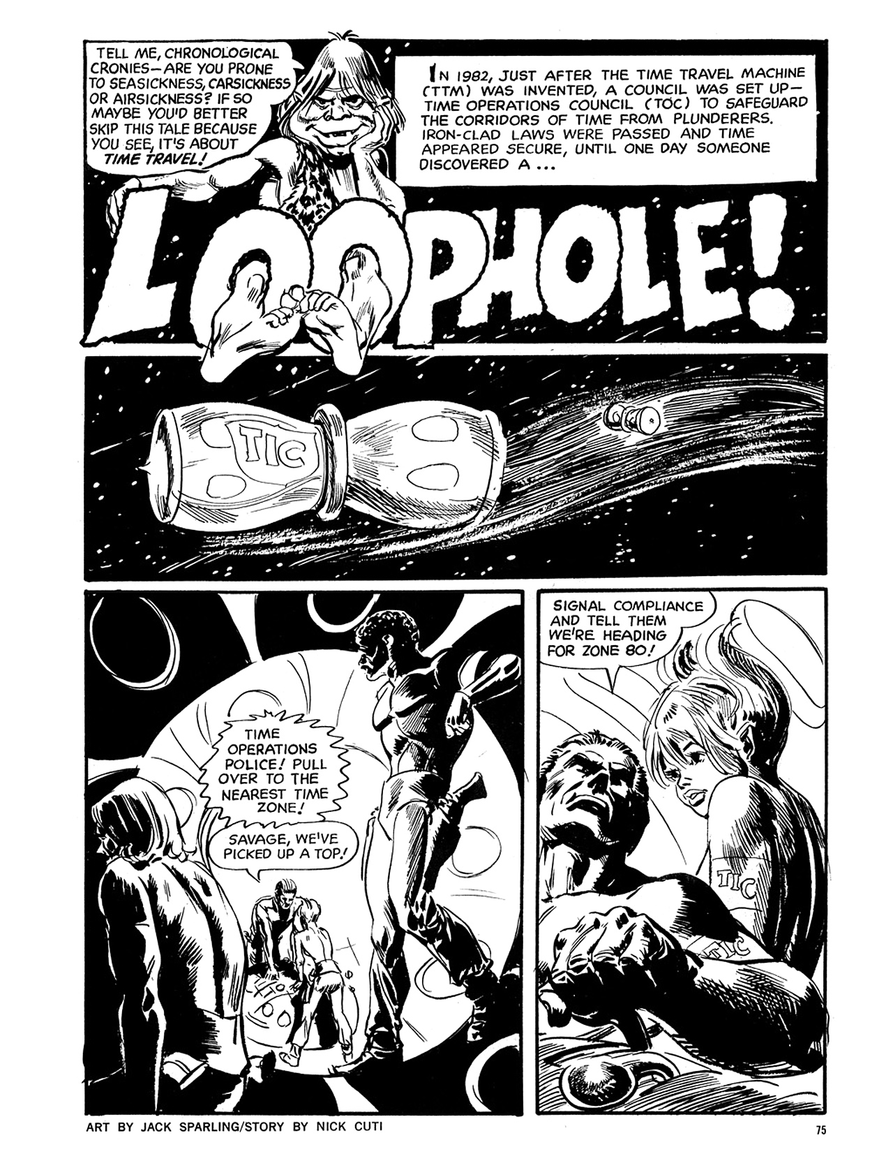 Read online Eerie Archives comic -  Issue # TPB 6 - 76