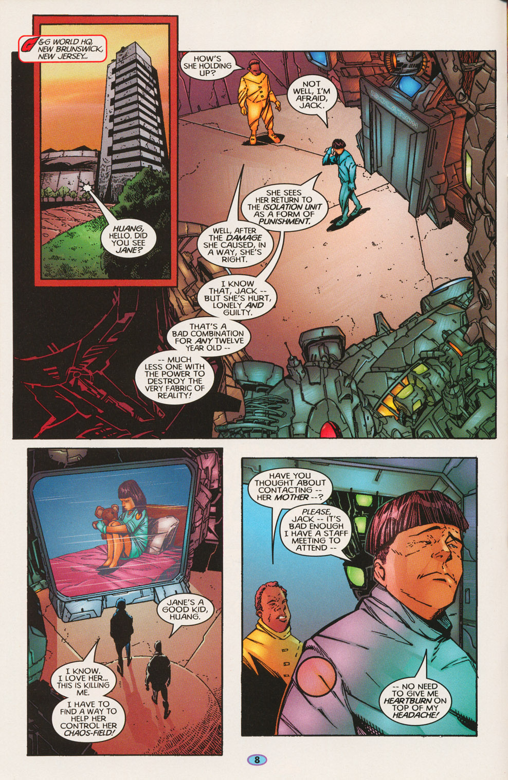 Read online Troublemakers comic -  Issue #2 - 8