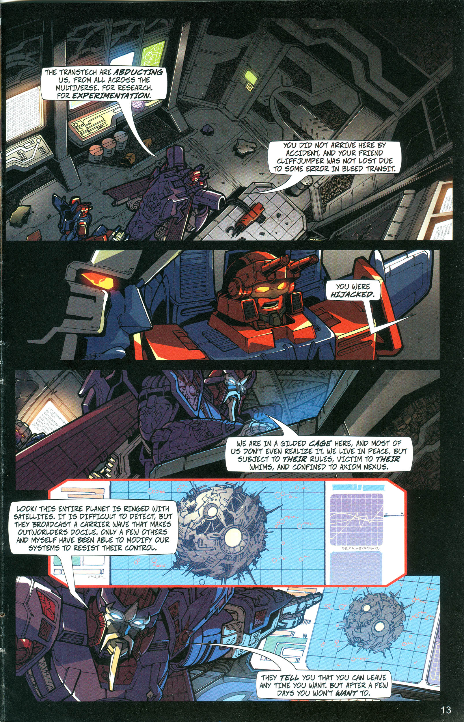 Read online Transformers: Collectors' Club comic -  Issue #20 - 13
