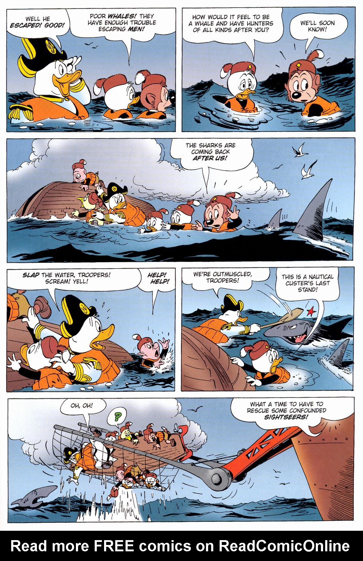 Read online Uncle Scrooge (1953) comic -  Issue #331 - 35
