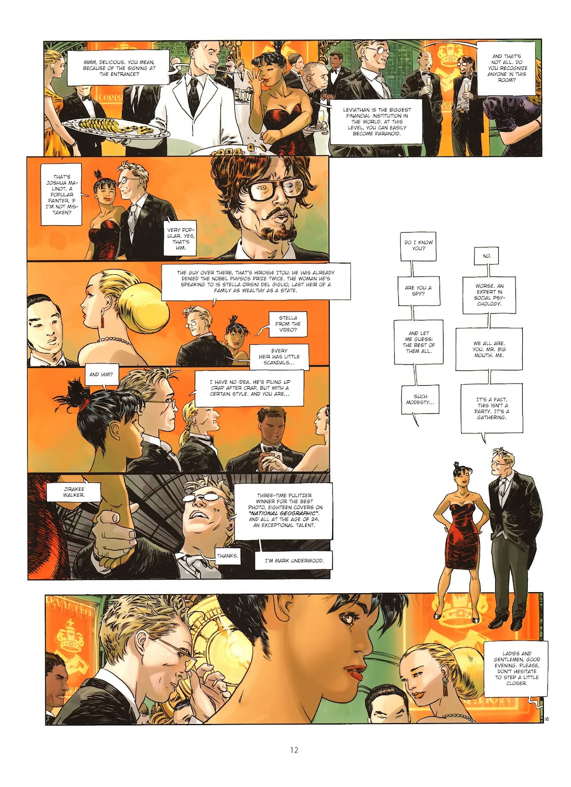 Read online Cutting Edge (2013) comic -  Issue #1 - 12