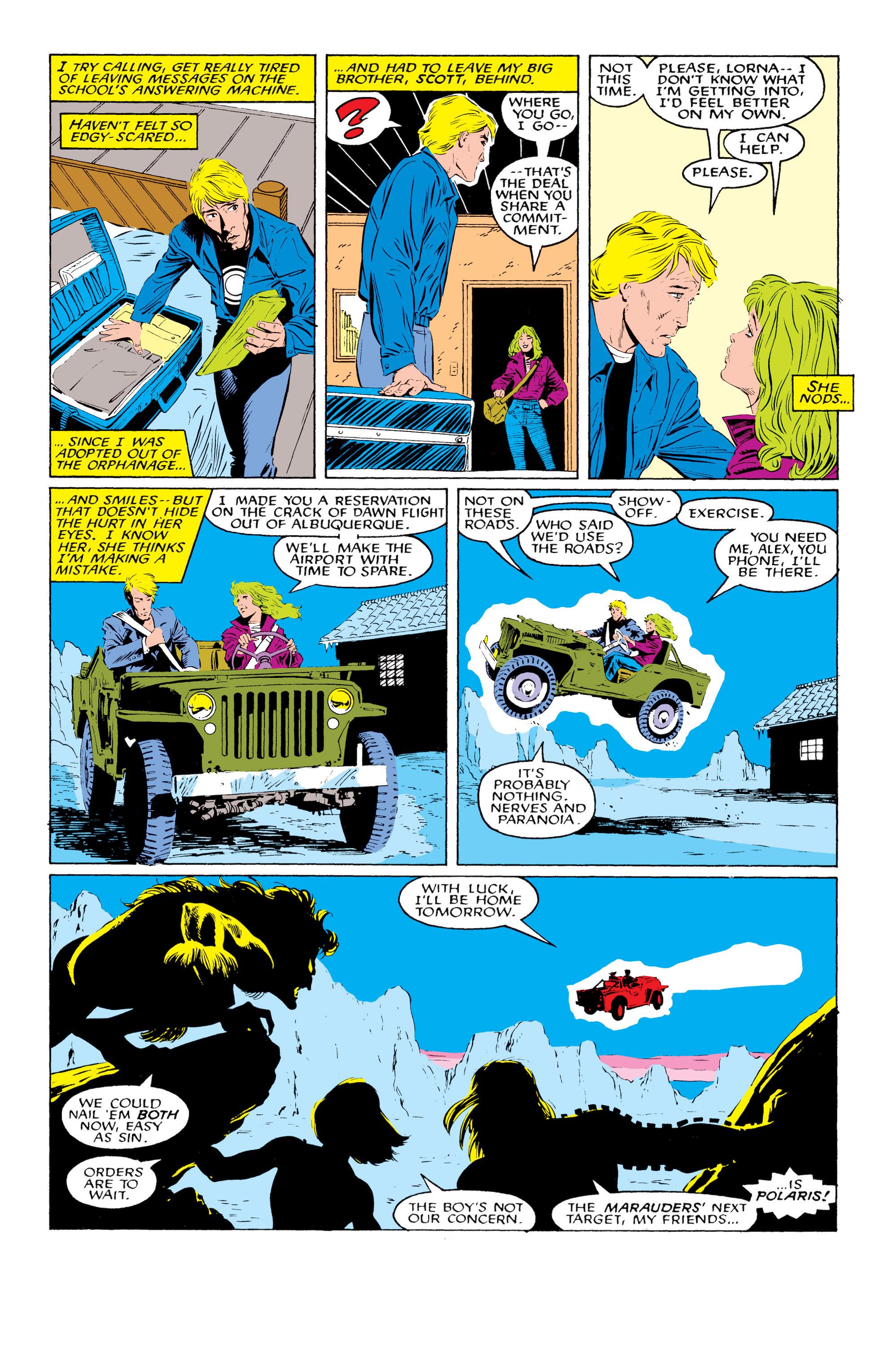 Read online Uncanny X-Men (1963) comic -  Issue #219 - 8