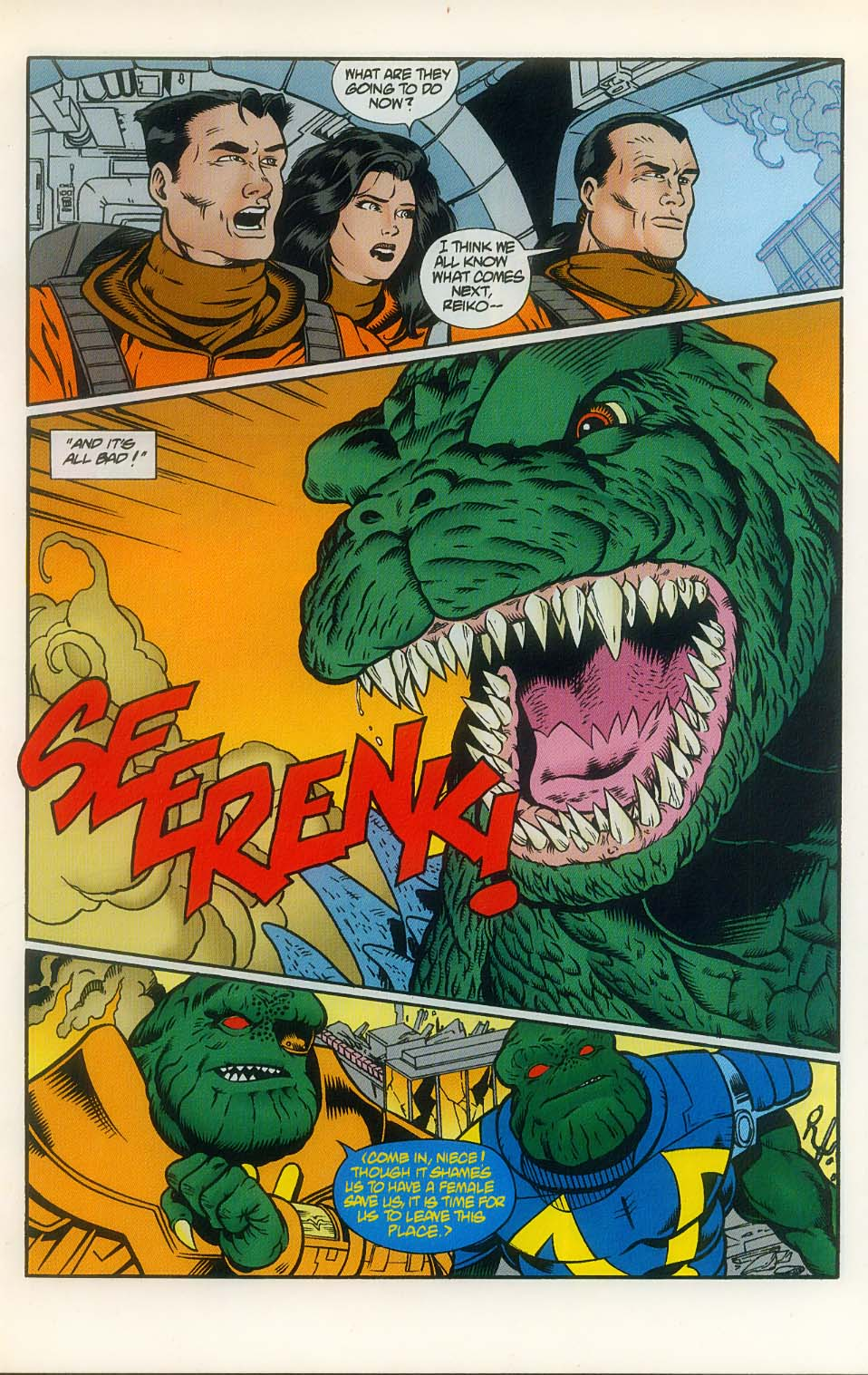 Godzilla (1995) Issue #8 #9 - English 15