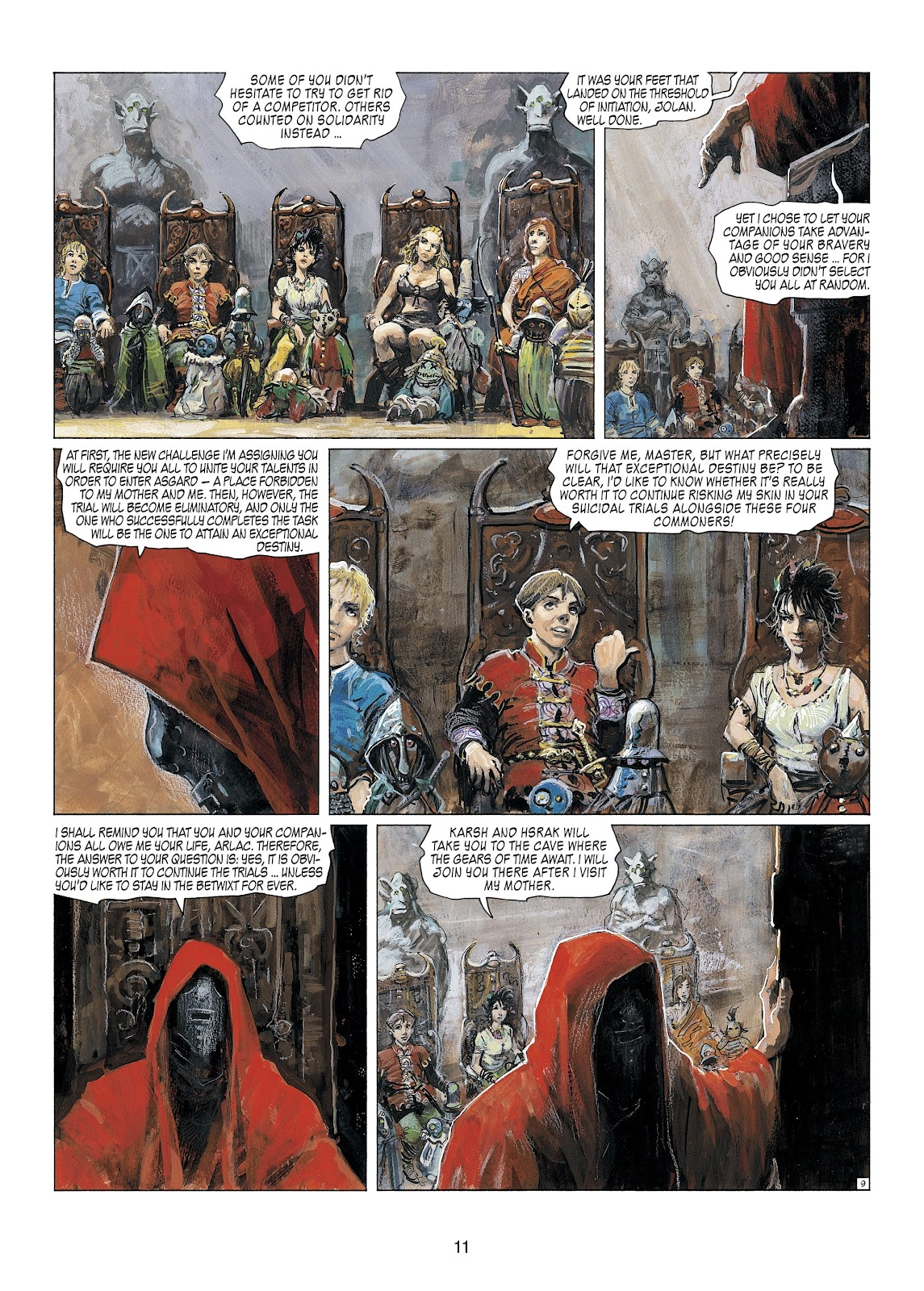 Read online Thorgal comic -  Issue #23 - 13