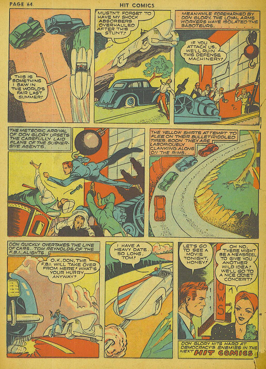 Read online Hit Comics comic -  Issue #13 - 66