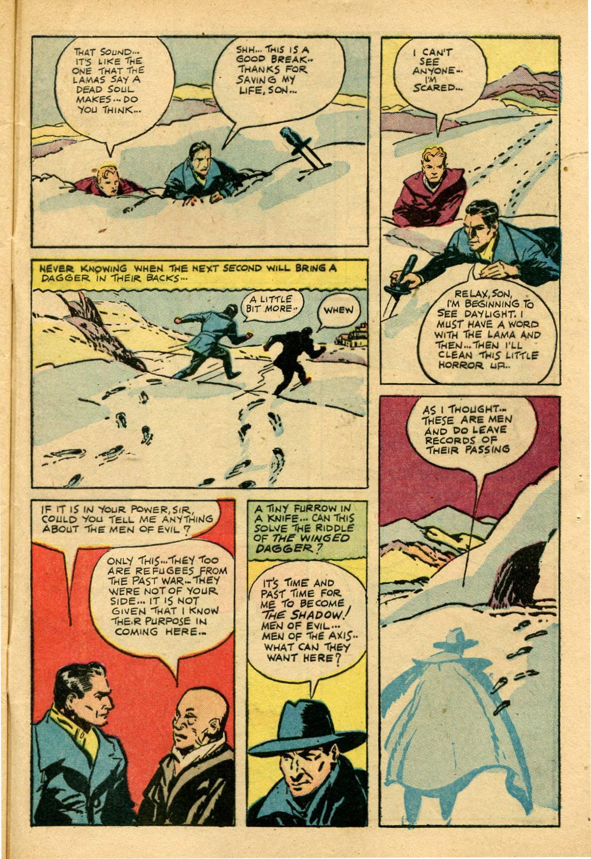 Read online Shadow Comics comic -  Issue #69 - 45