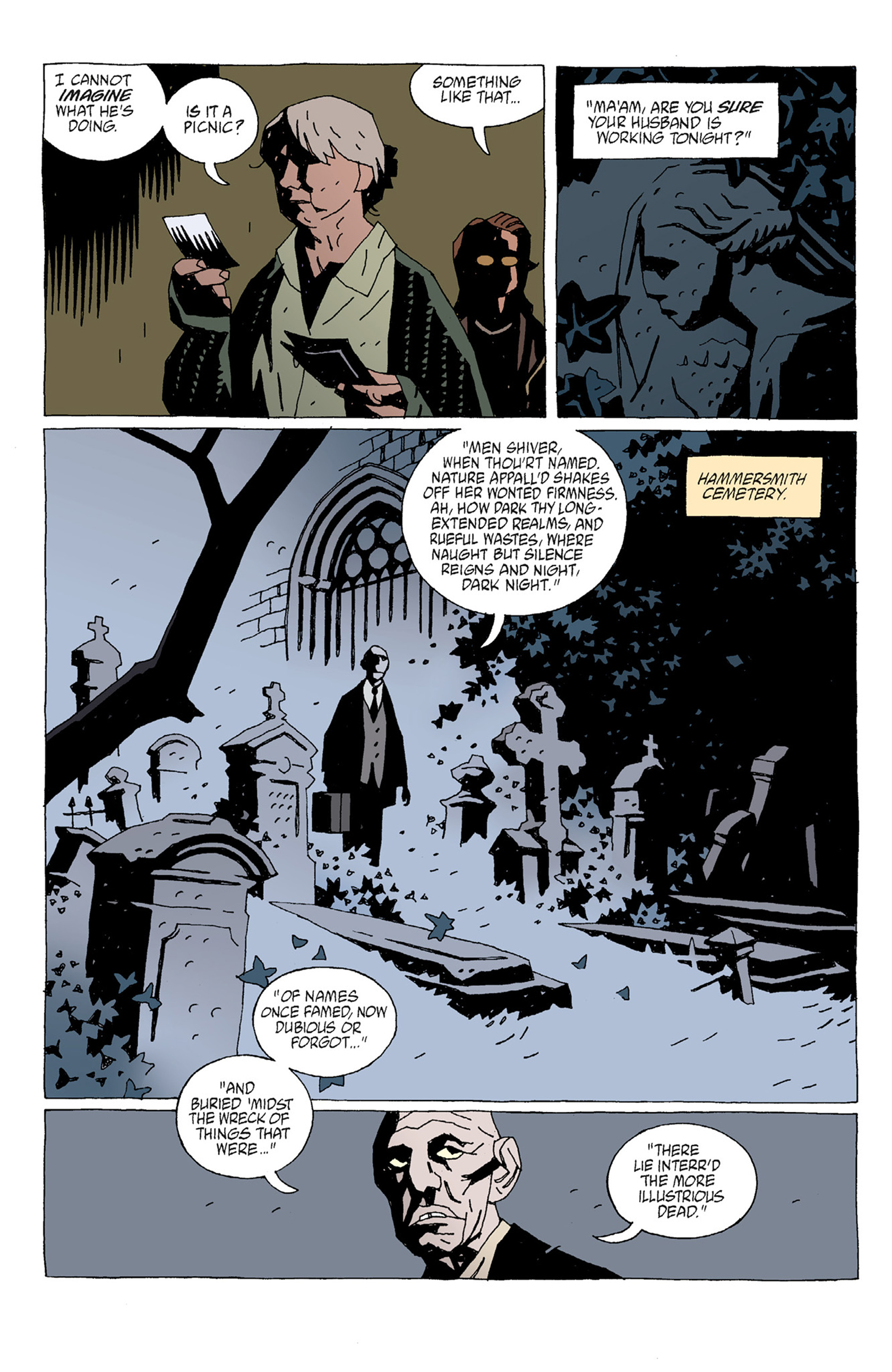 Read online Hellboy: The Troll Witch and Others comic -  Issue # TPB - 72