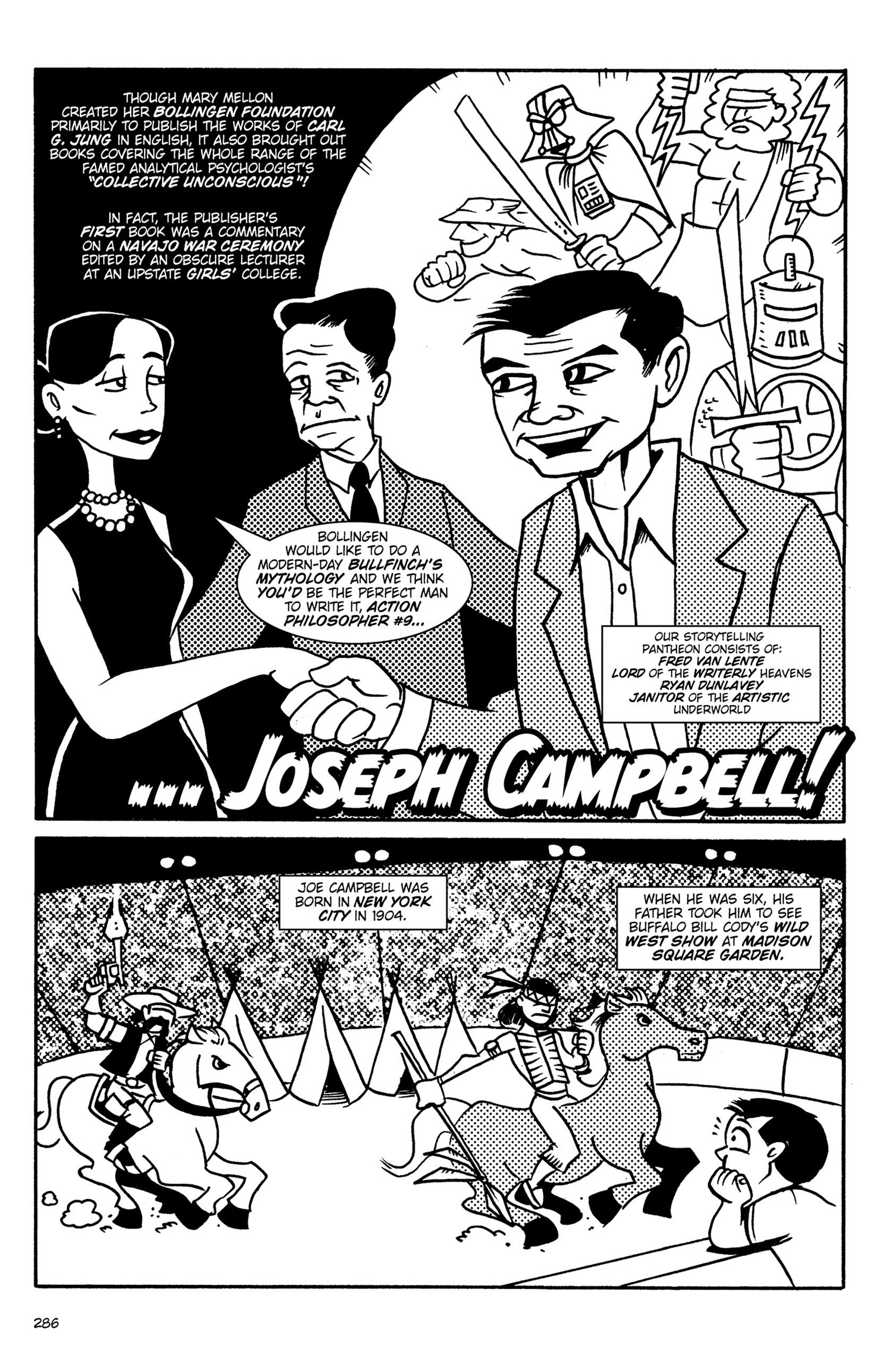 Read online Action Philosophers! comic -  Issue #Action Philosophers! TPB (Part 2) - 114