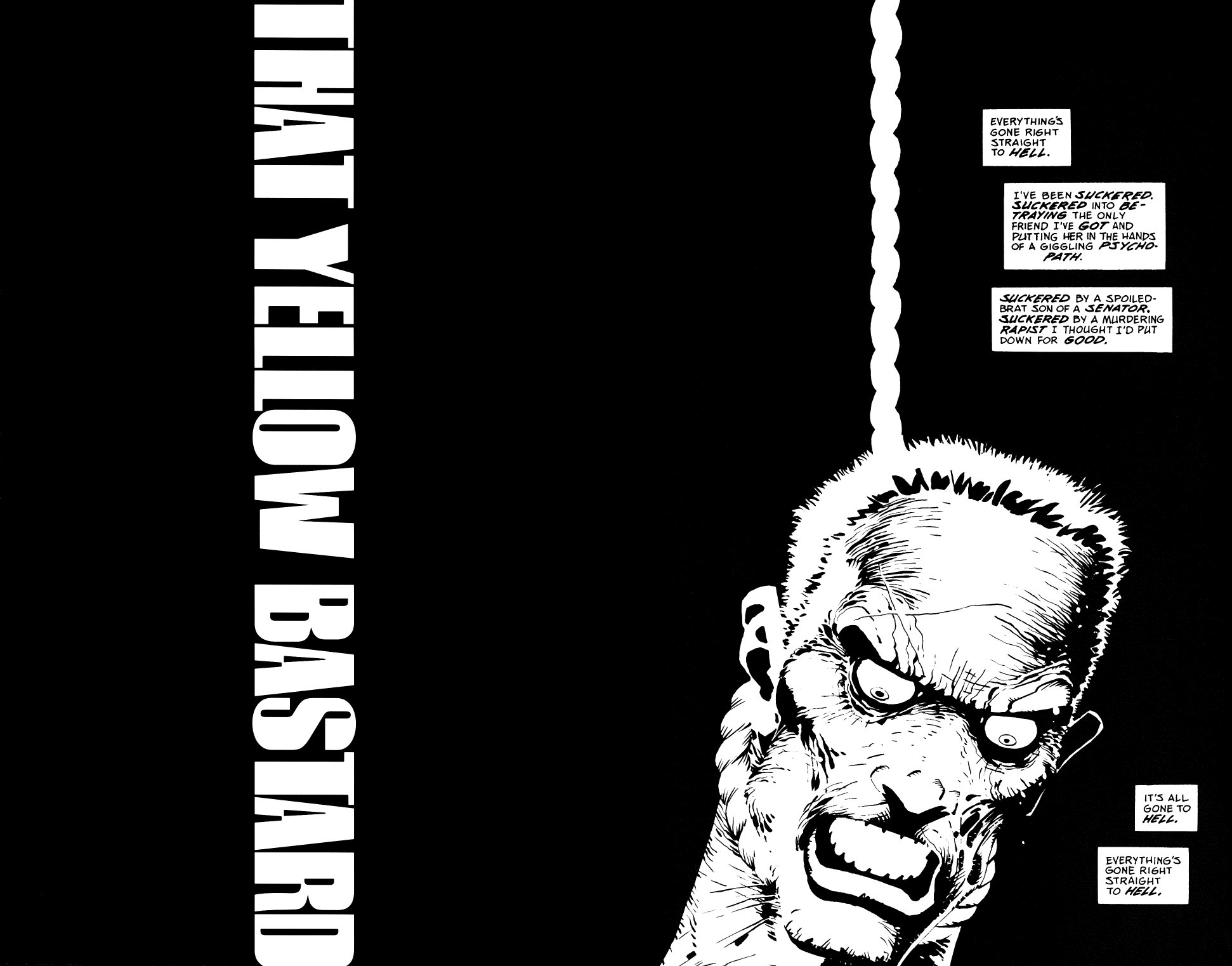 Read online Sin City: That Yellow Bastard comic -  Issue #6 - 2