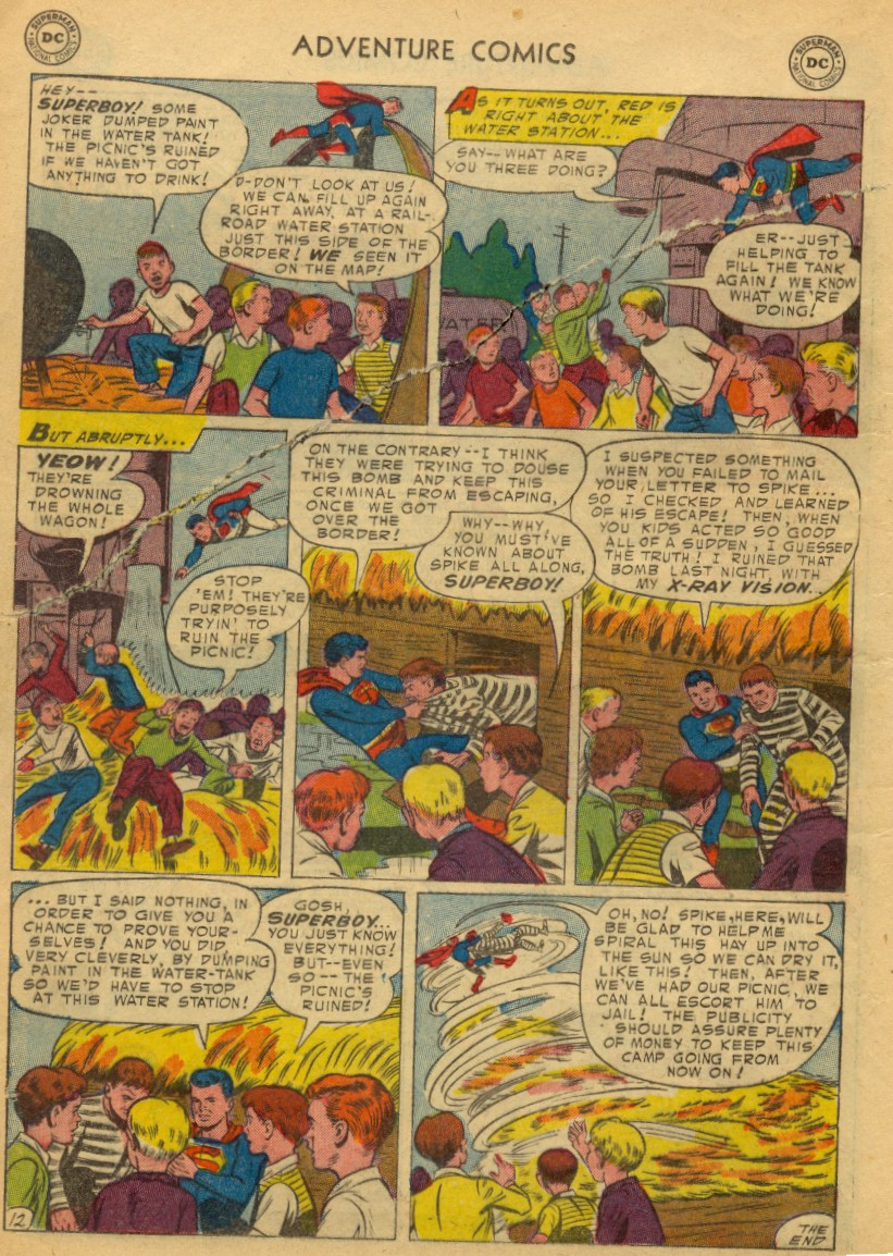 Read online Adventure Comics (1938) comic -  Issue #203 - 14