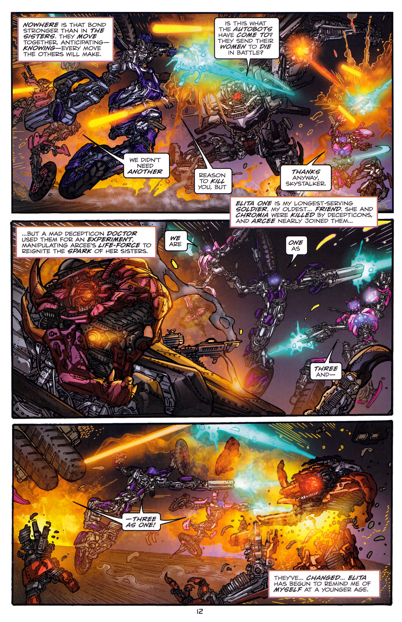 Read online Transformers: Dark of the Moon Rising Storm comic -  Issue #1 - 15