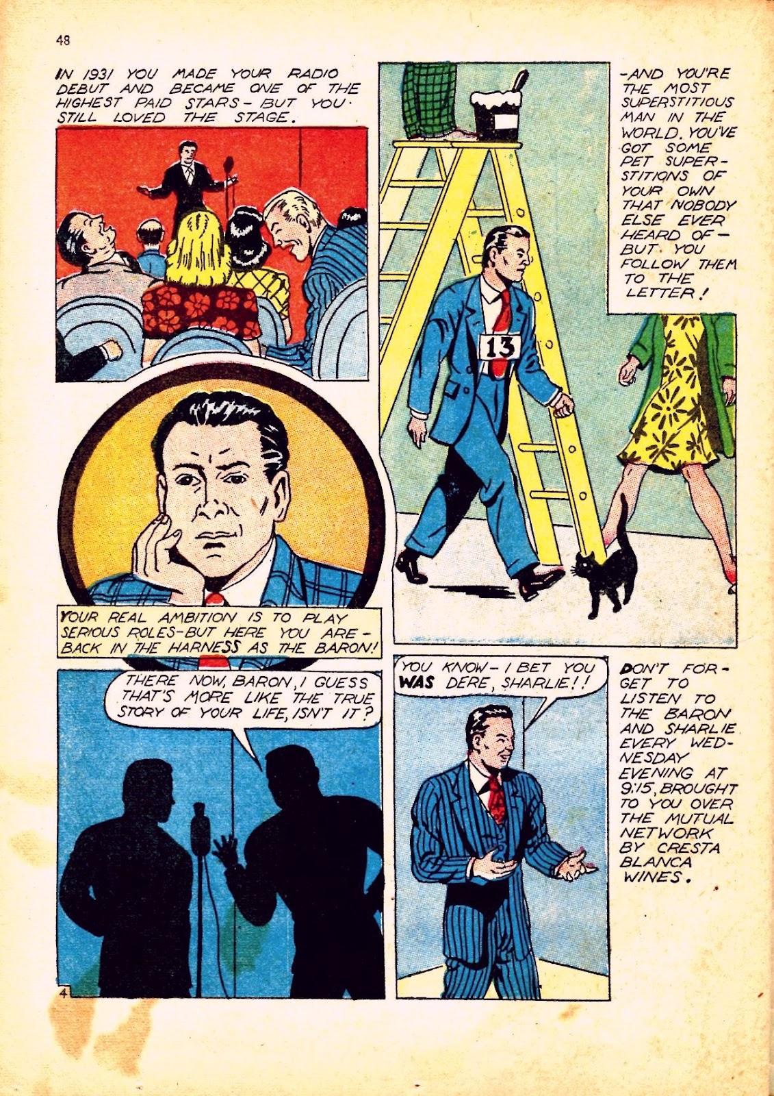Read online Super-Magician Comics comic -  Issue #12 - 48