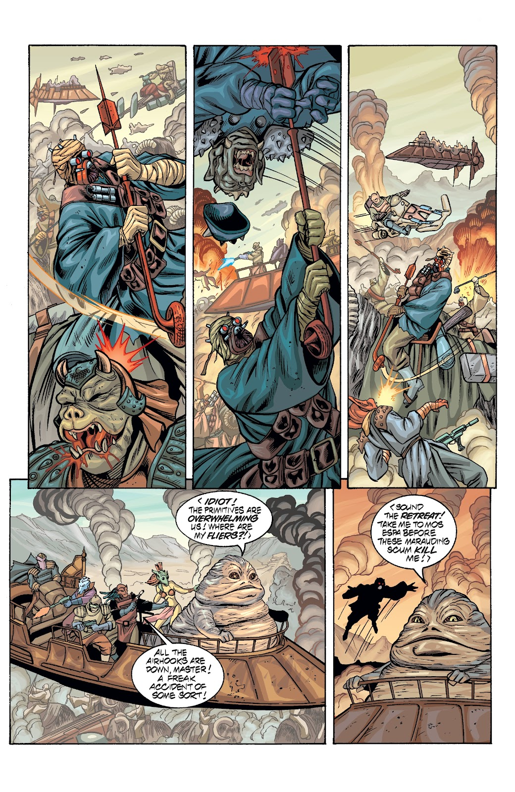 Read online Star Wars Legends Epic Collection: The Menace Revealed comic -  Issue # TPB (Part 3) - 21