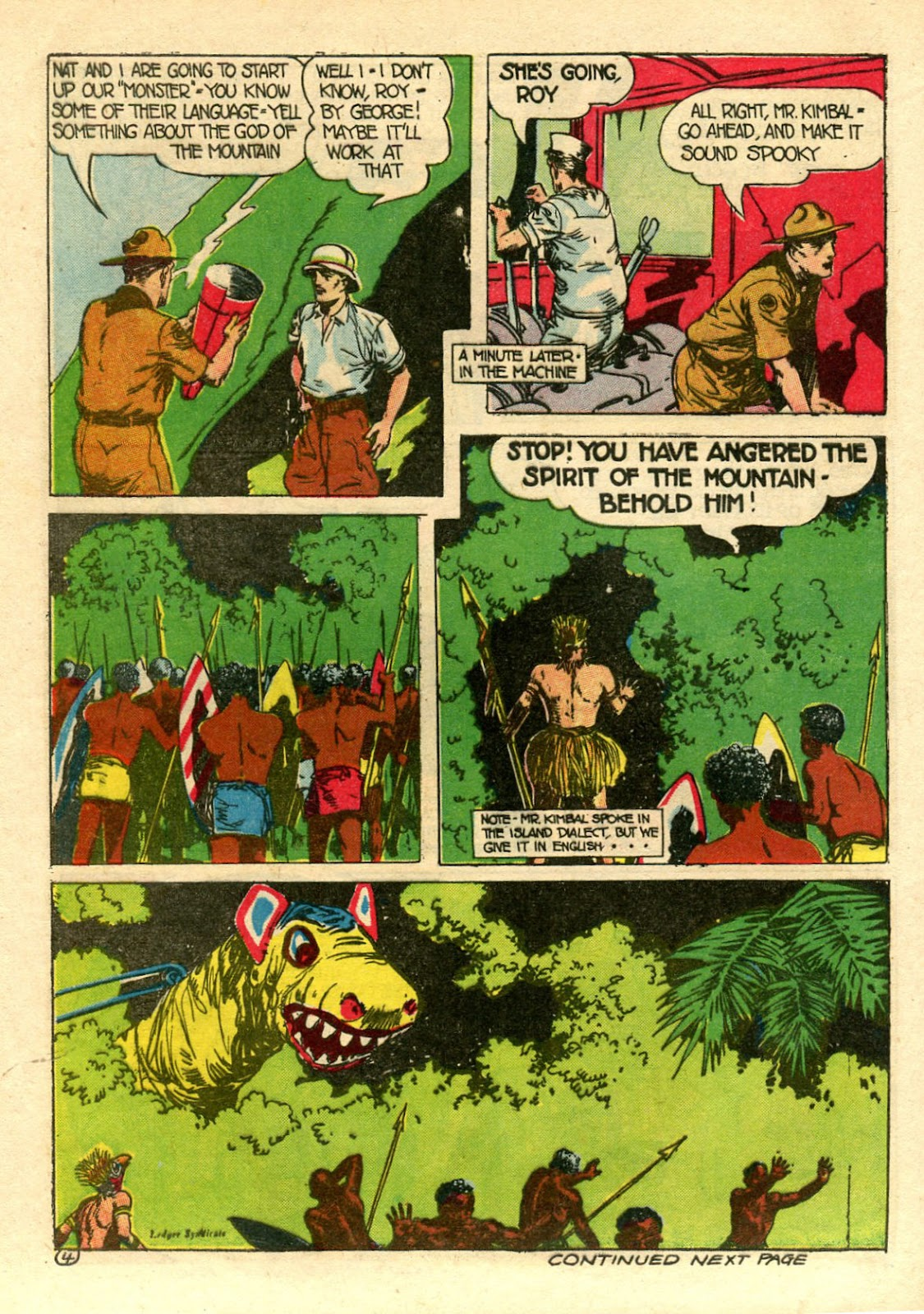 Read online Famous Funnies comic -  Issue #106 - 54