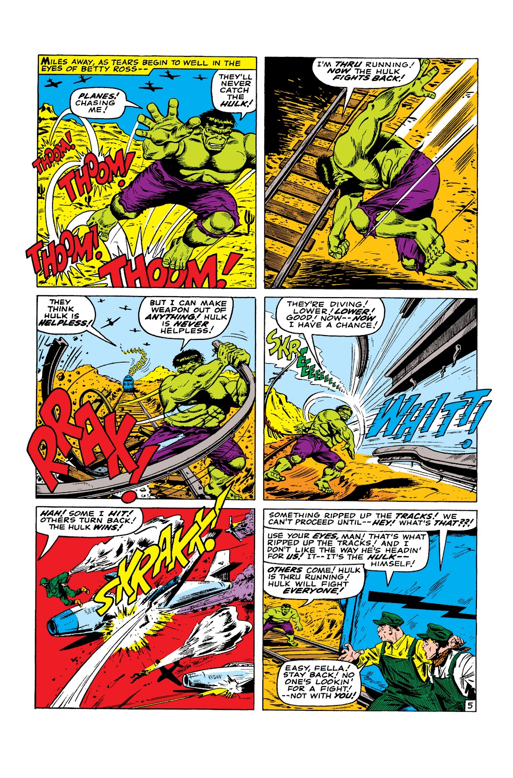 Read online Marvel Masterworks: The Incredible Hulk comic -  Issue # TPB 2 (Part 3) - 38