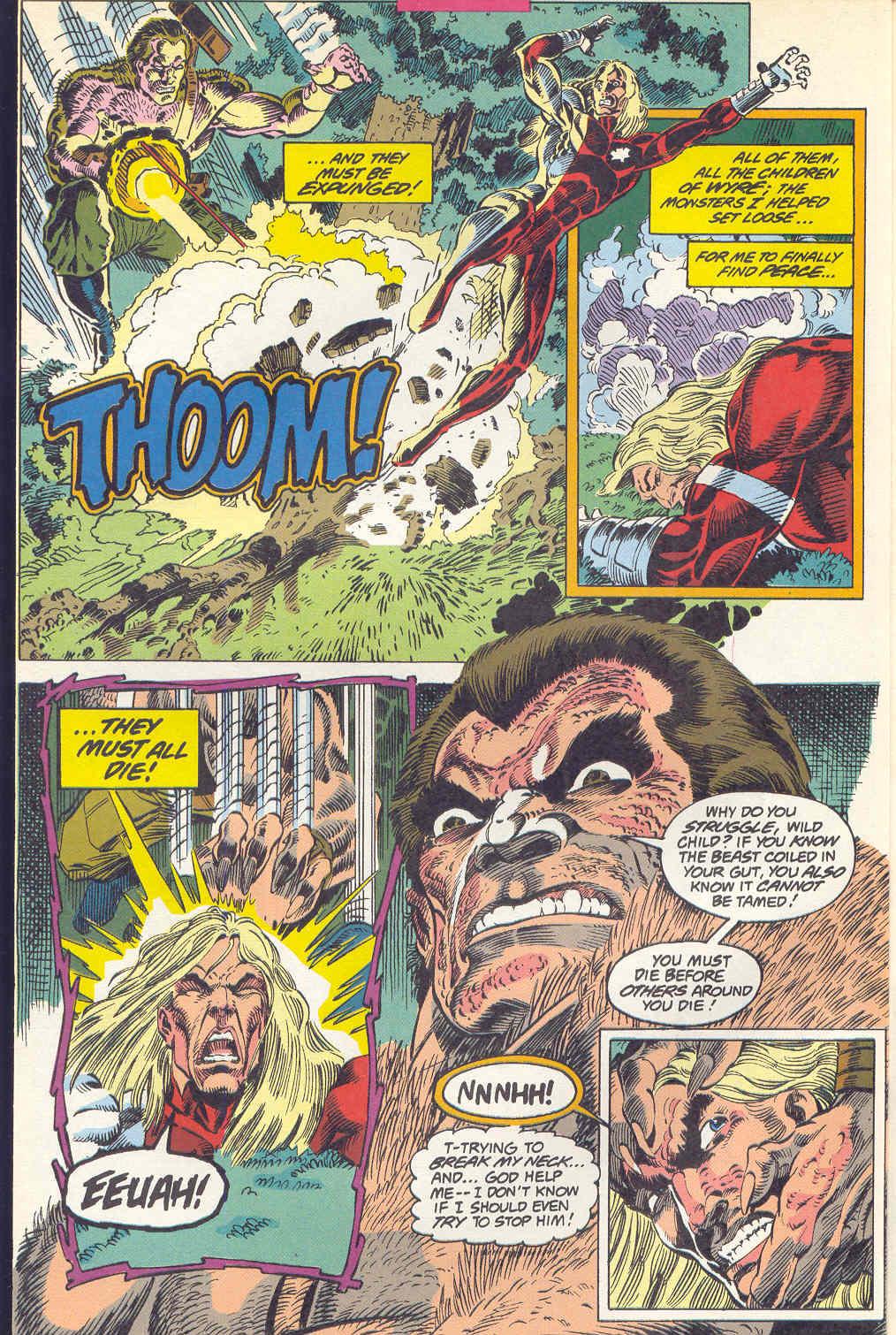 Read online Alpha Flight (1983) comic -  Issue #115 - 3