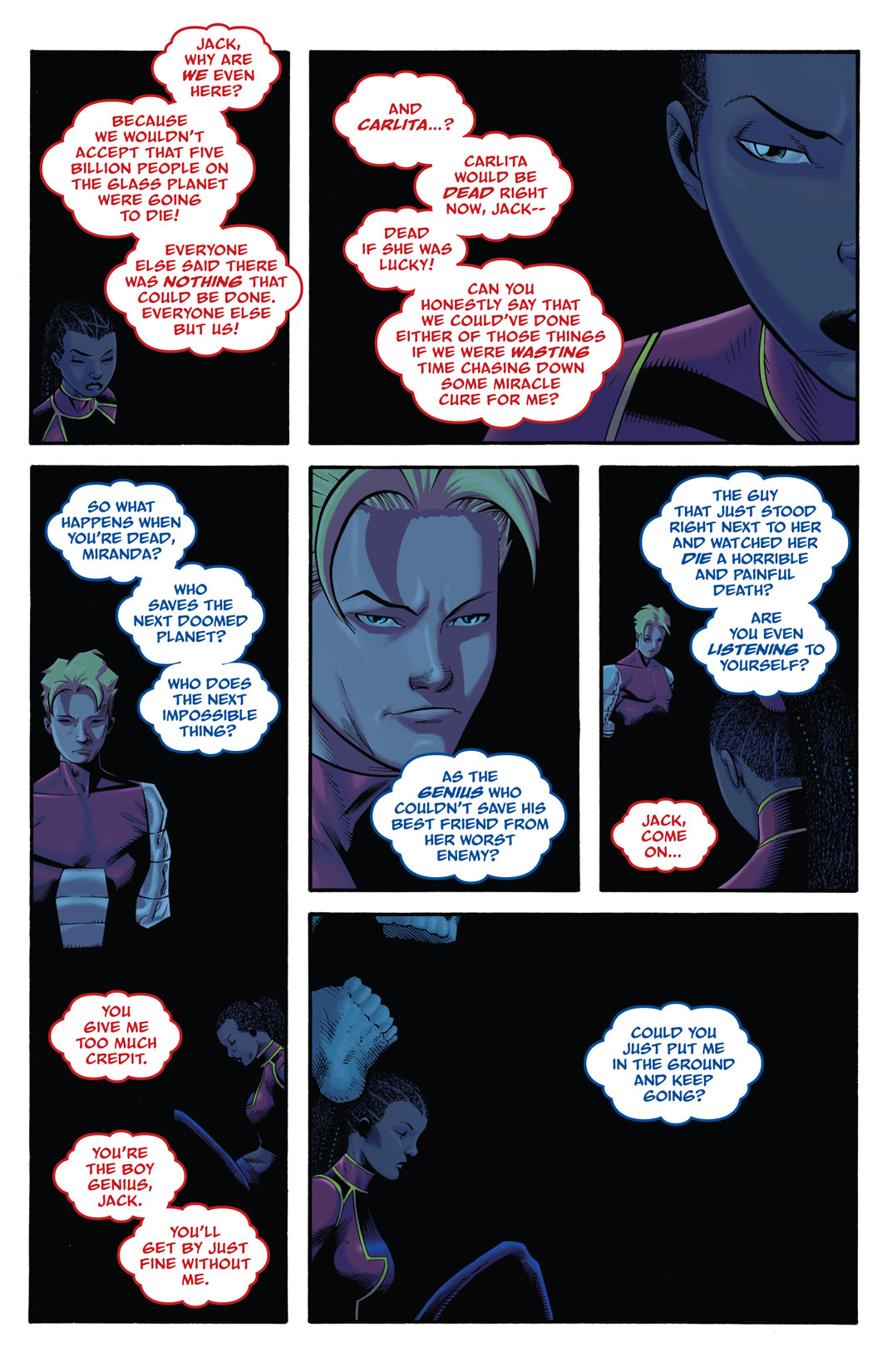 Read online The Many Adventures of Miranda Mercury: Time Runs Out comic -  Issue # TPB - 130