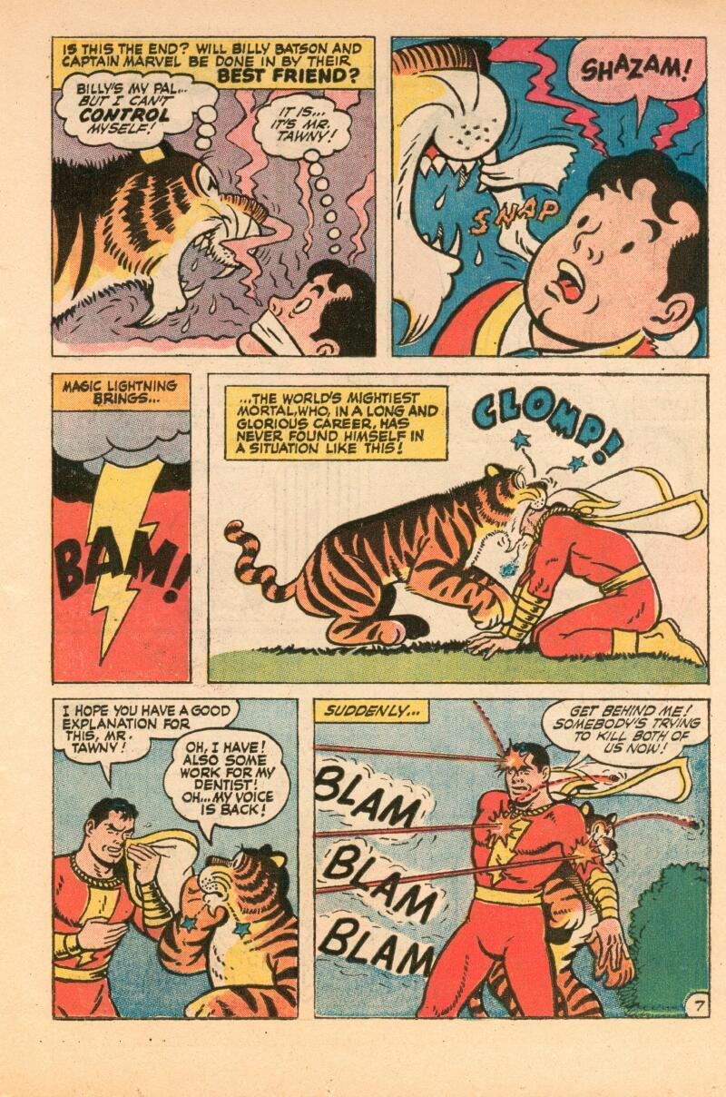 Read online Shazam! (1973) comic -  Issue #7 - 8