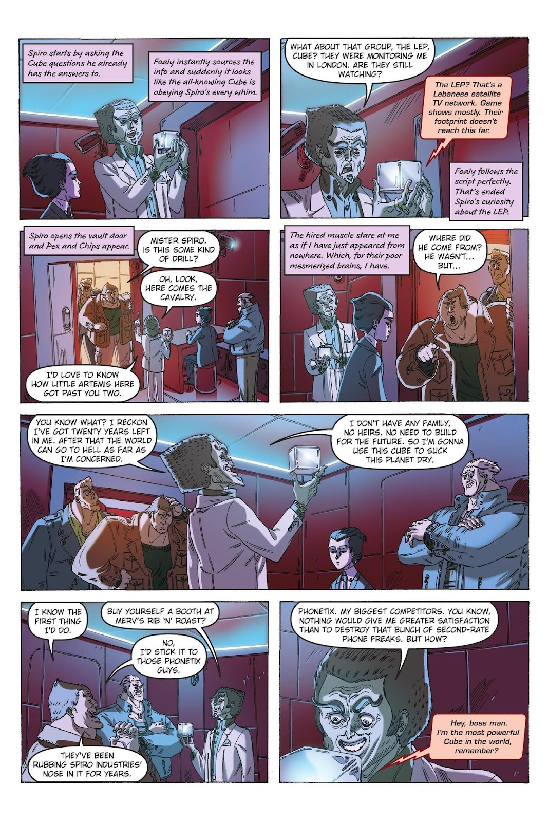 Artemis Fowl: The Eternity Code issue TPB - Page 94
