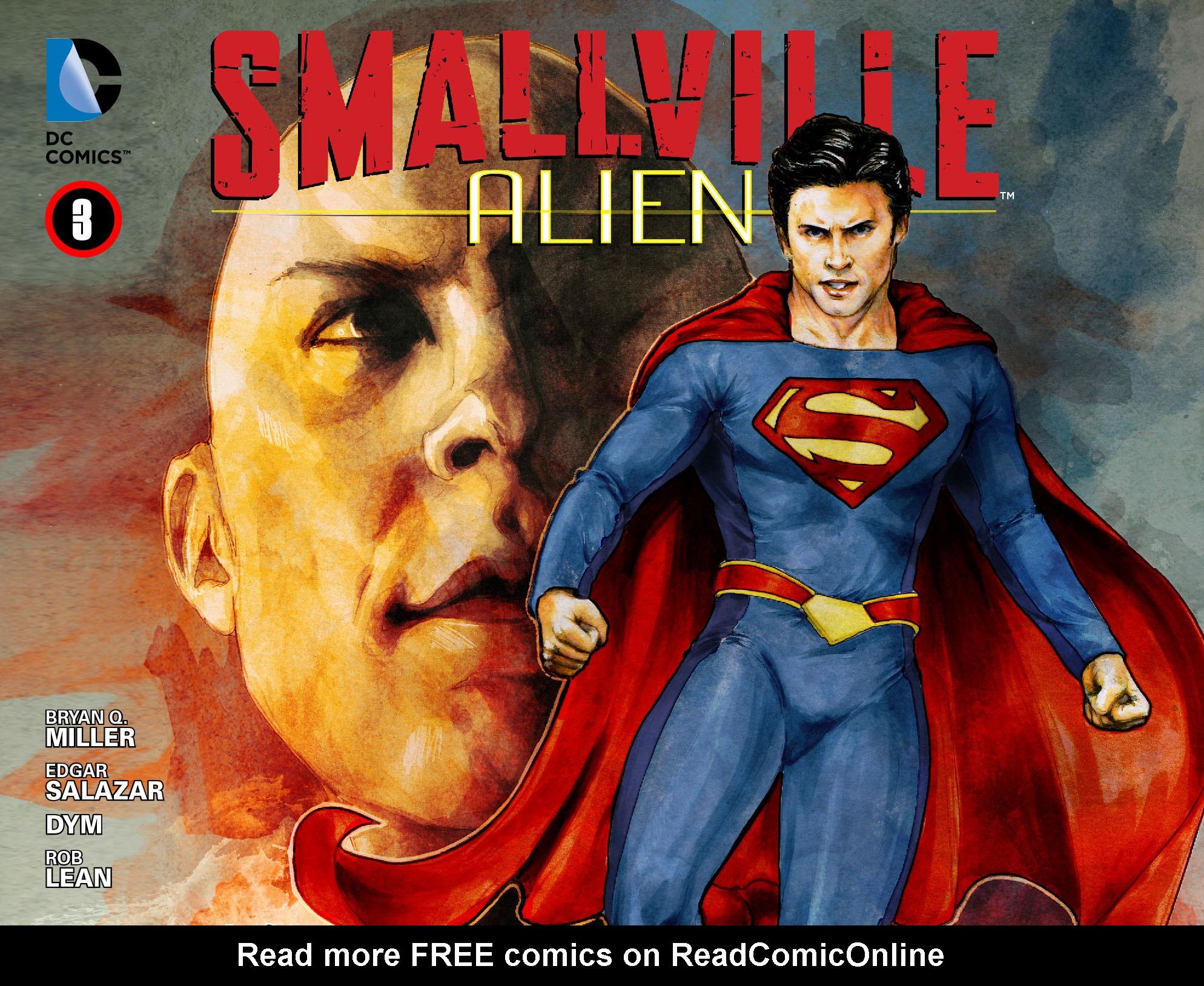 Read online Smallville: Alien comic -  Issue #3 - 1