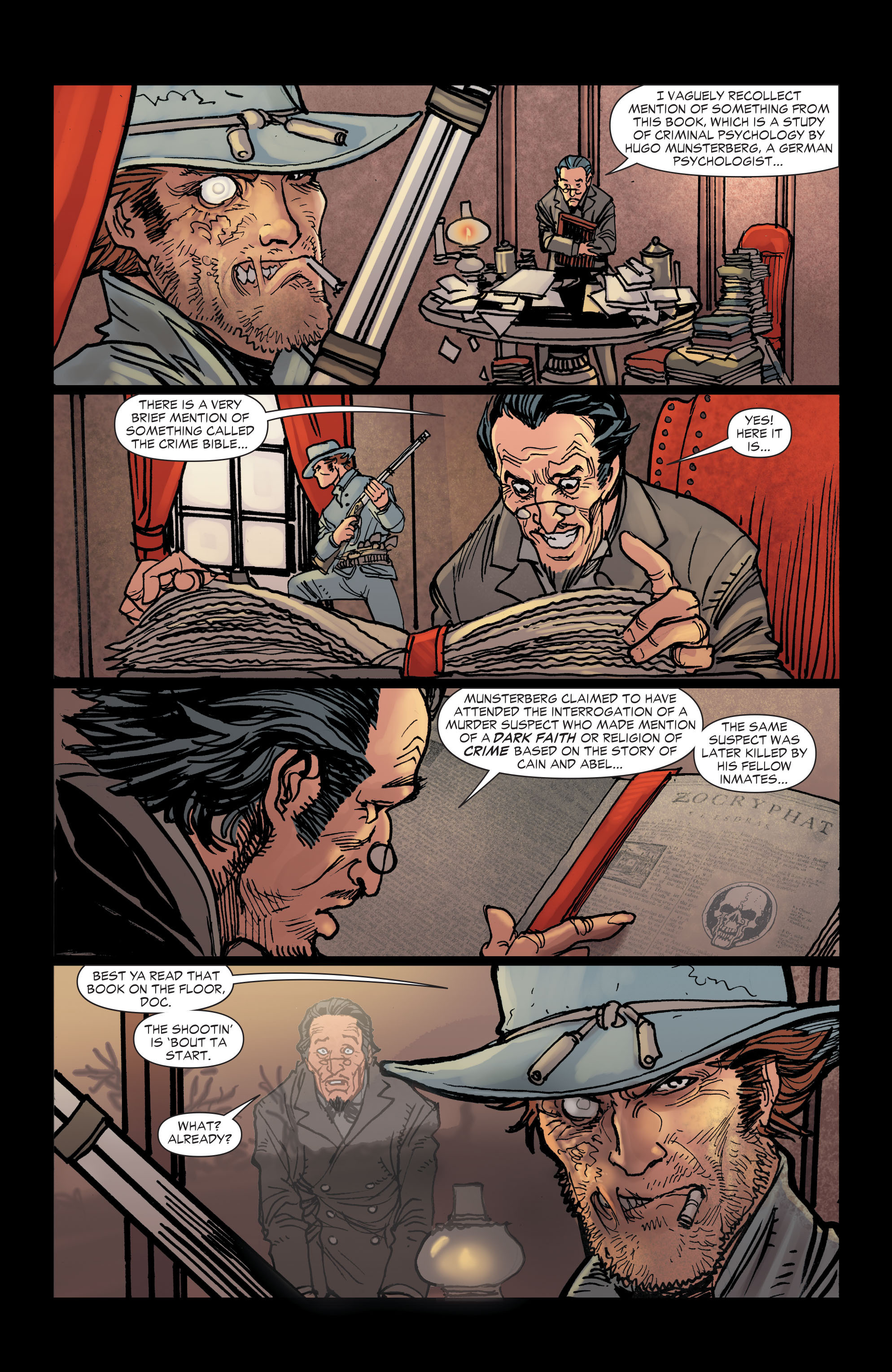 Read online All-Star Western (2011) comic -  Issue #2 - 4