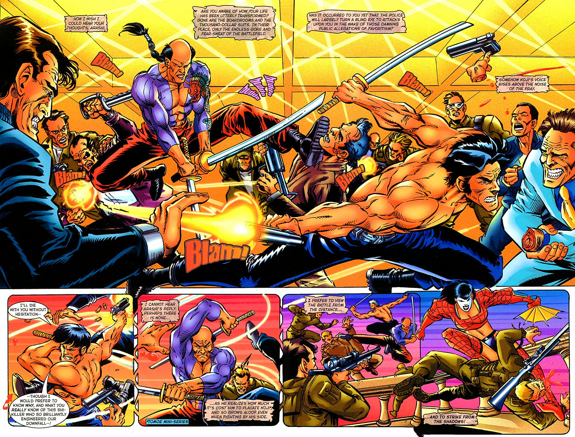 Read online Shi: The Way of the Warrior comic -  Issue #10 - 6