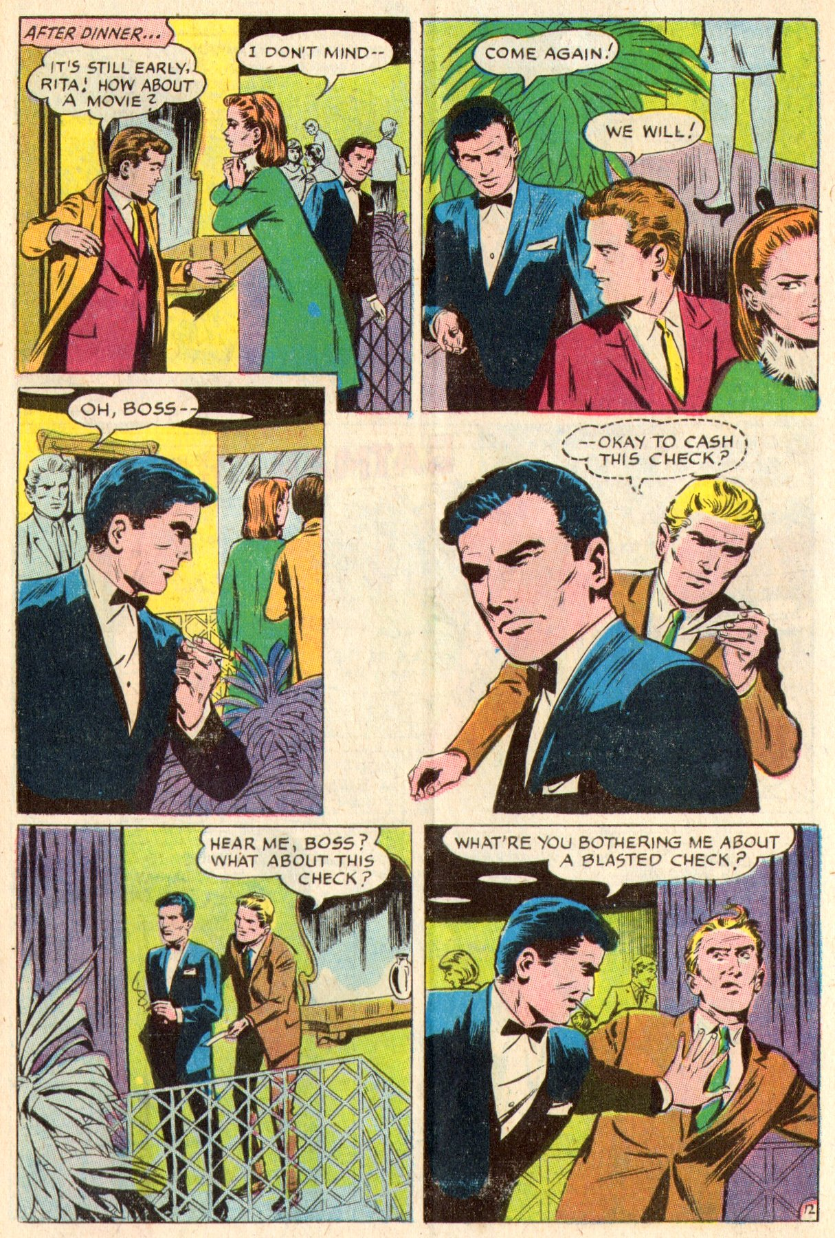Read online Secret Hearts comic -  Issue #117 - 31