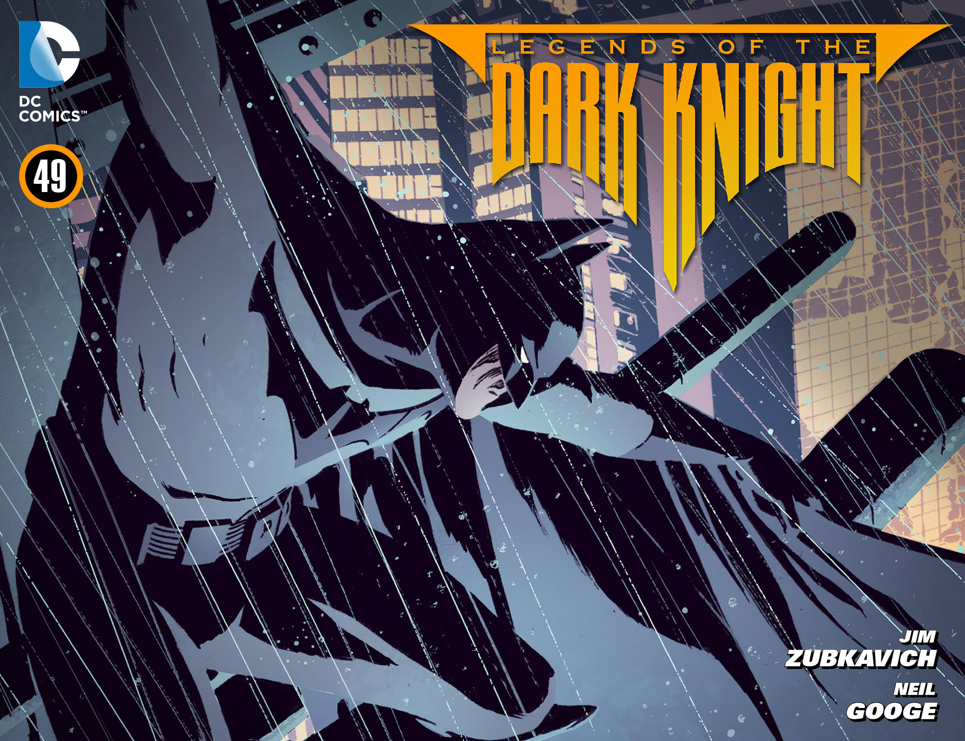 Legends of the Dark Knight [I] issue 49 - Page 1