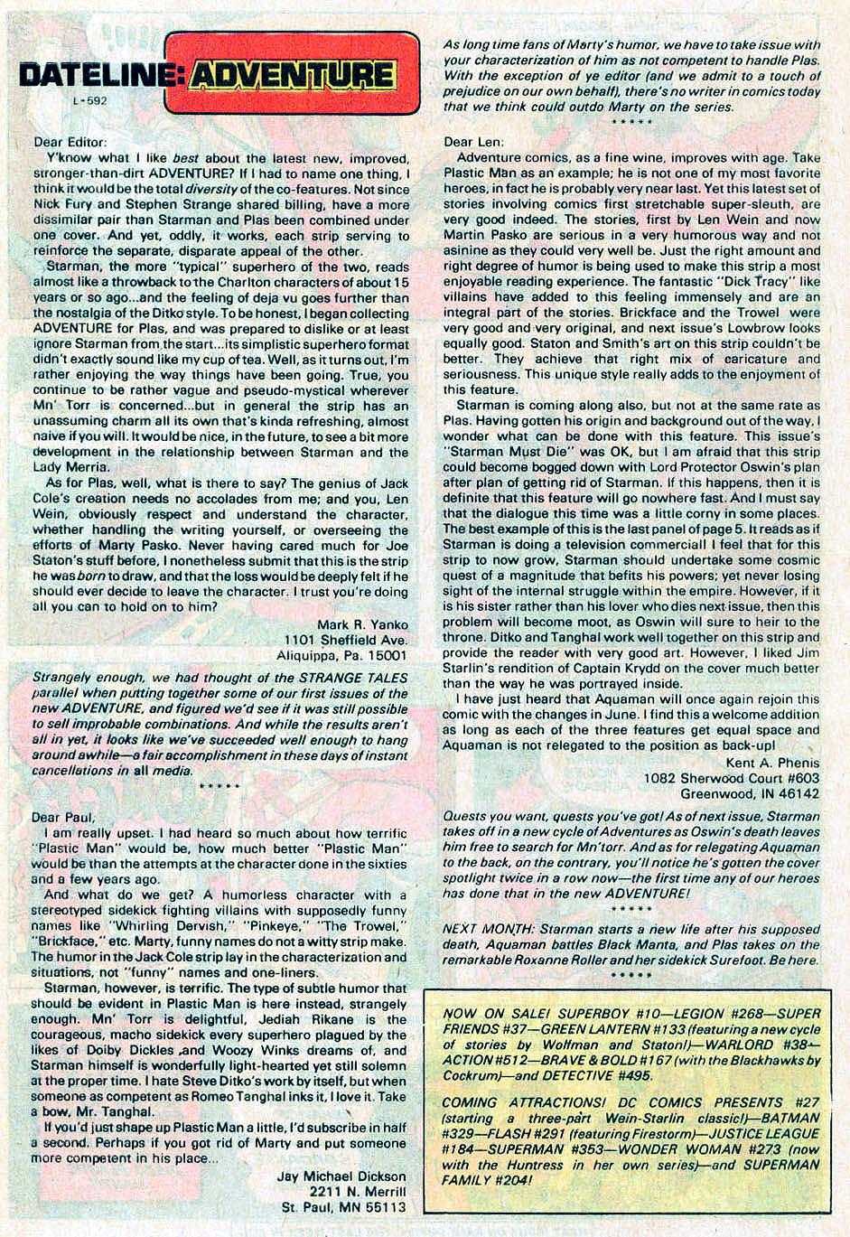 Read online Adventure Comics (1938) comic -  Issue #476 - 27