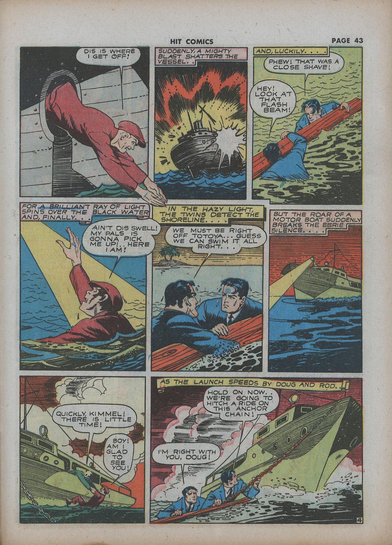 Read online Hit Comics comic -  Issue #22 - 45