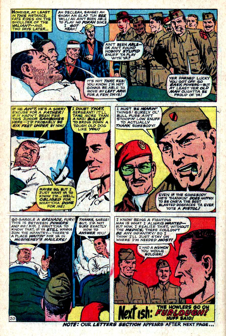Read online Sgt. Fury comic -  Issue #46 - 28