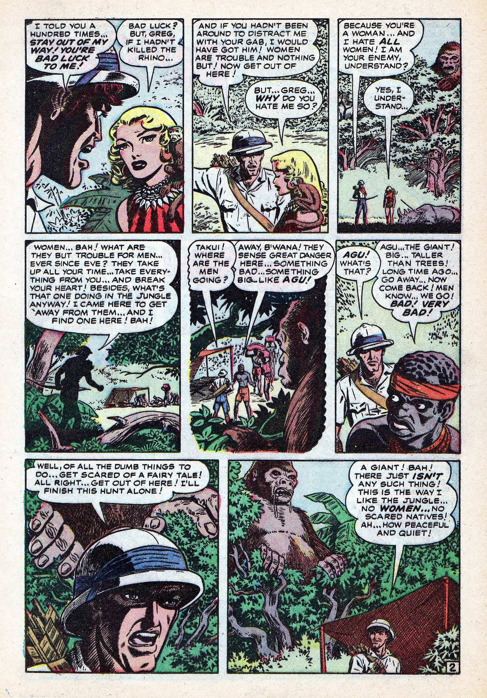Read online Lorna, The Jungle Queen comic -  Issue #3 - 13