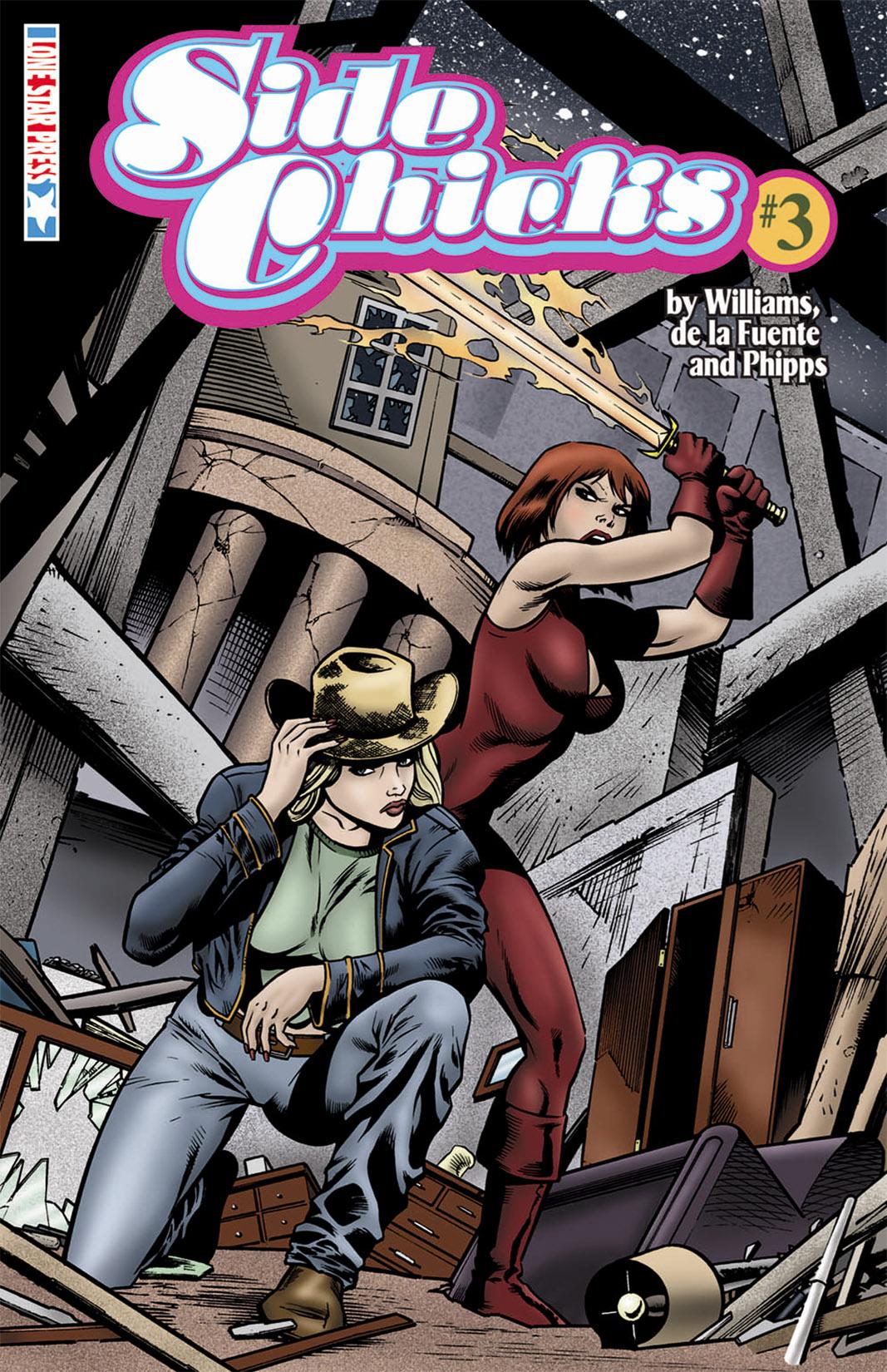 Read online SideChicks comic -  Issue #3 - 1