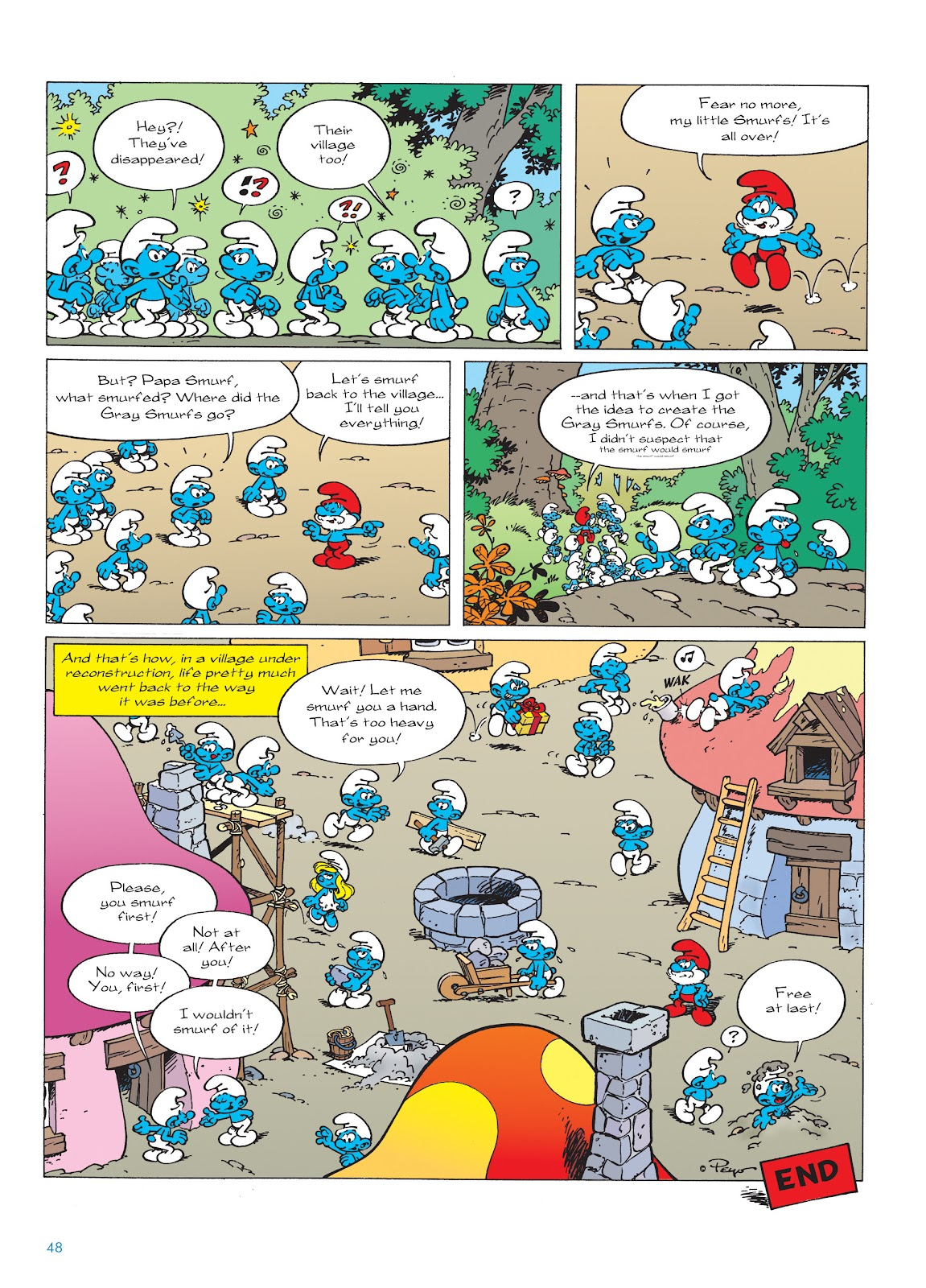 Read online The Smurfs comic -  Issue #22 - 49