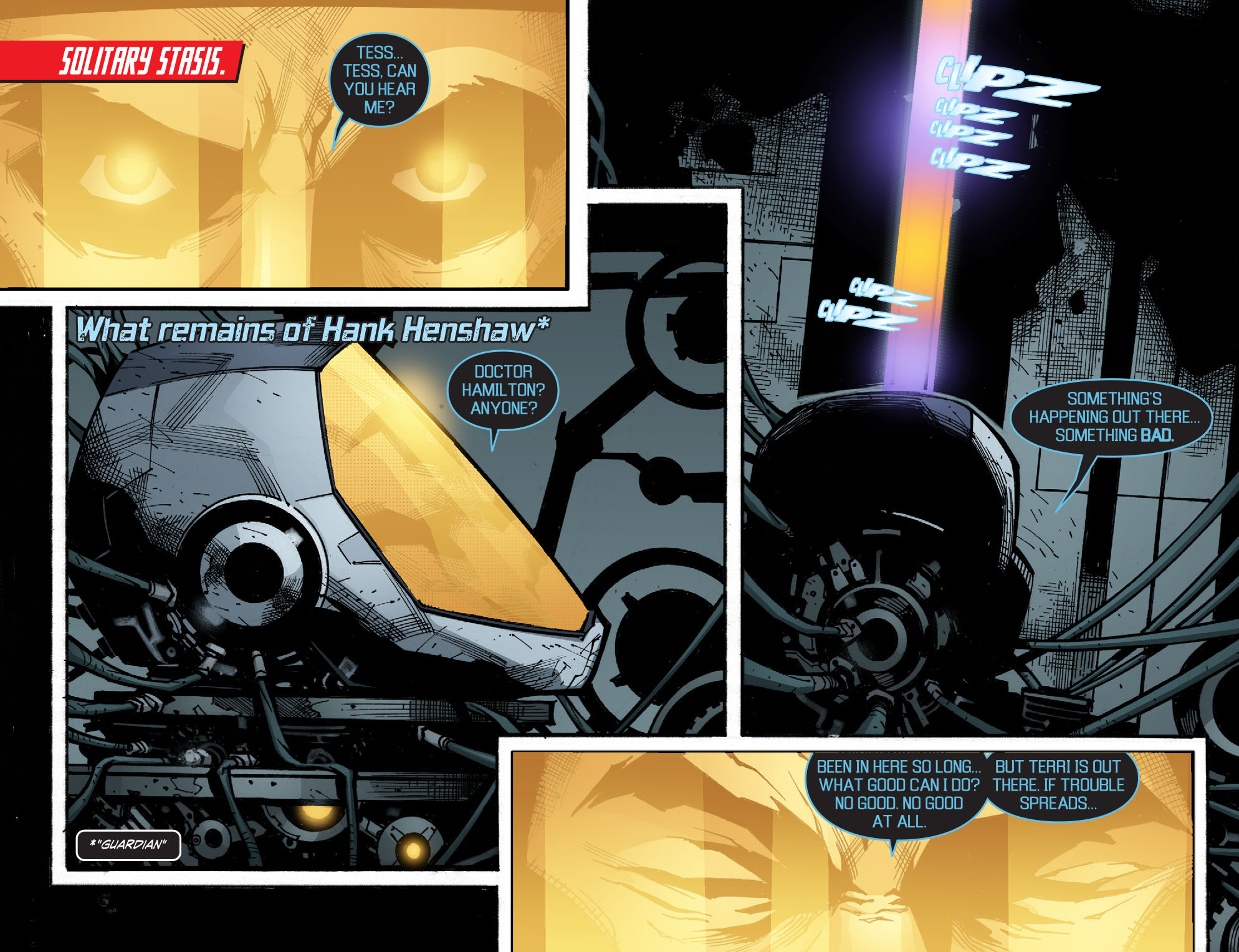 Read online Smallville: Chaos [II] comic -  Issue #5 - 7