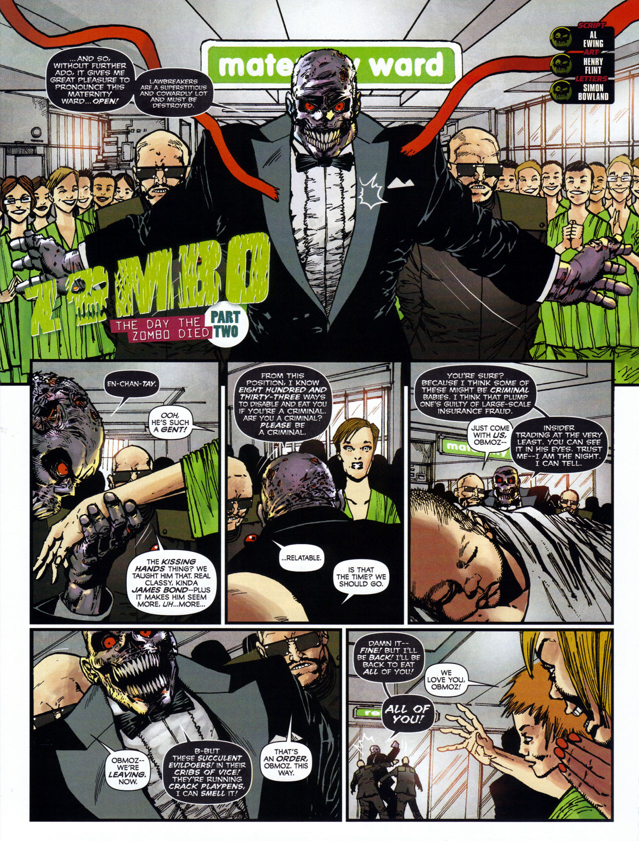 Read online 2000 AD comic -  Issue #1746 - 96