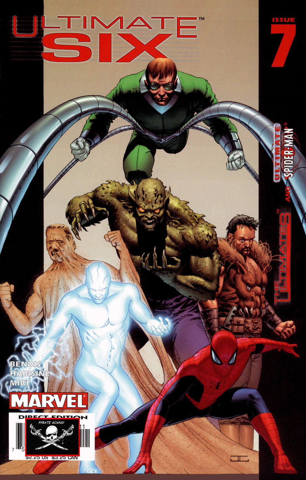 Read online Ultimate Six comic -  Issue #7 - 1