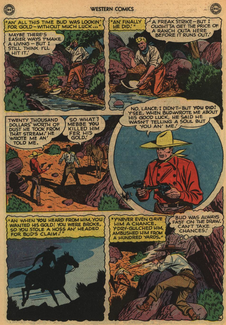 Western Comics issue 1 - Page 44