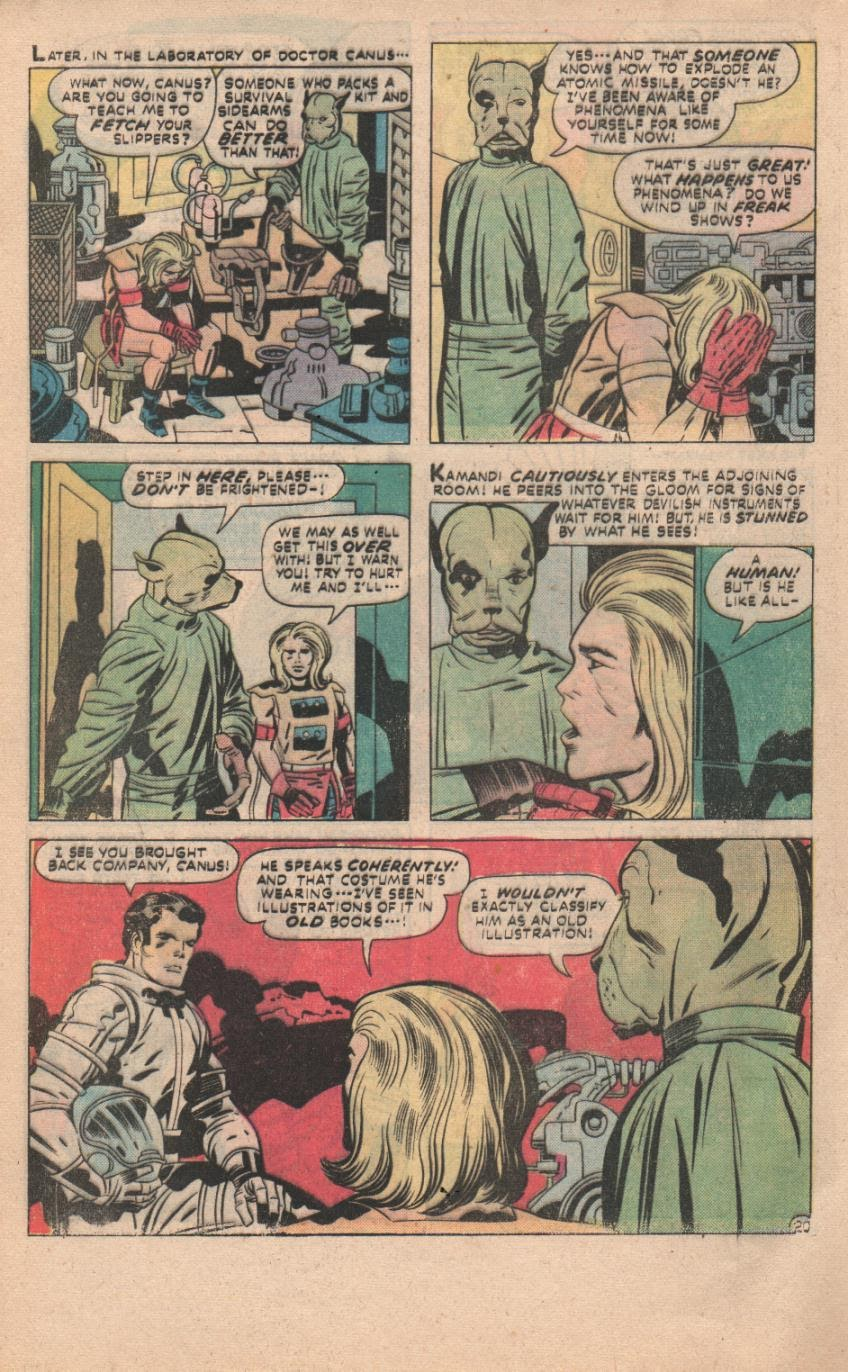 Kamandi, The Last Boy On Earth issue 32 - Page 51