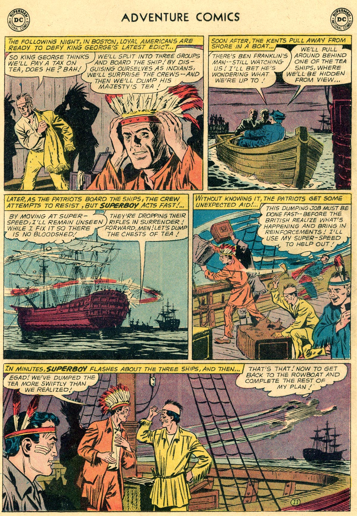Read online Adventure Comics (1938) comic -  Issue #296 - 13