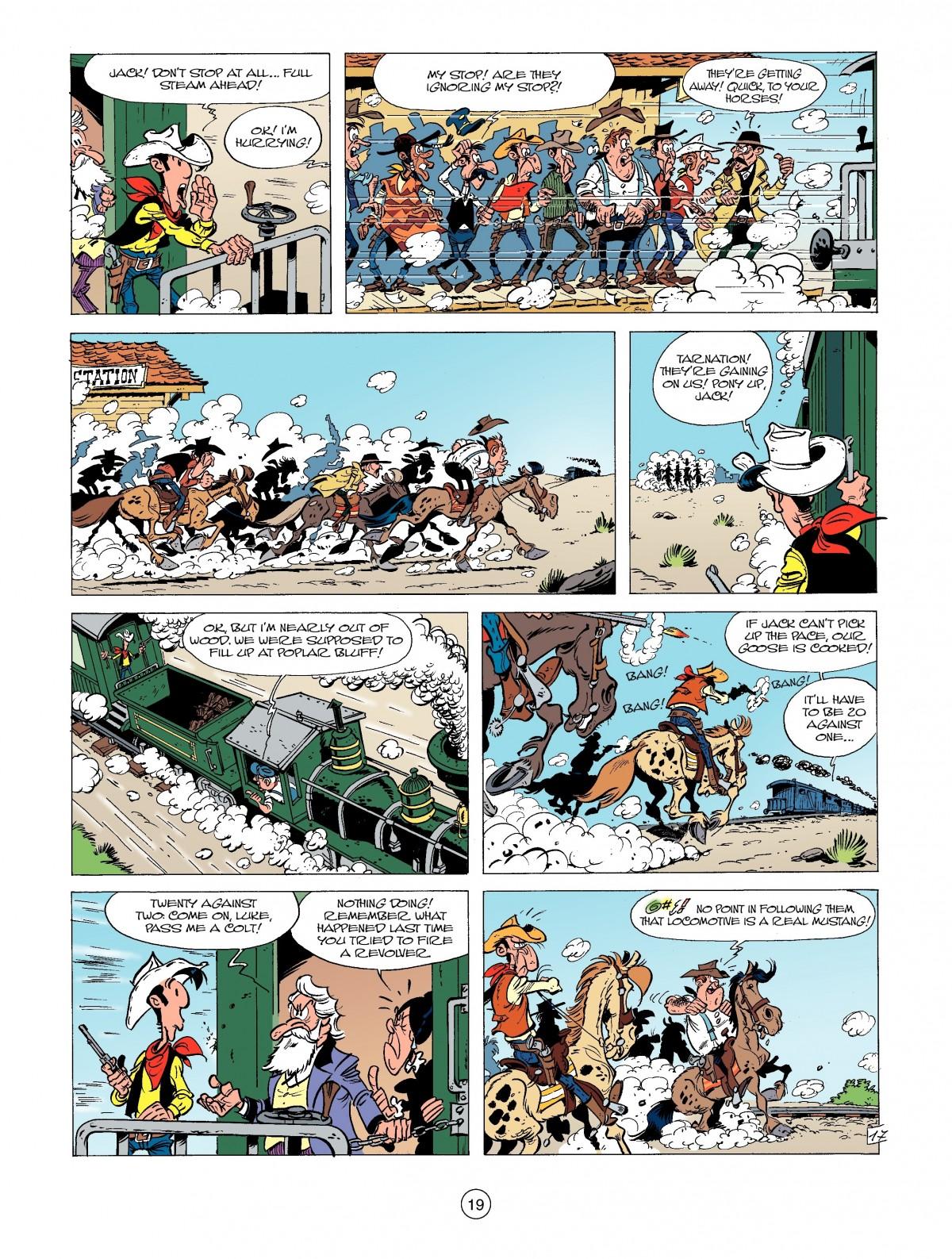 Read online A Lucky Luke Adventure comic -  Issue #39 - 19