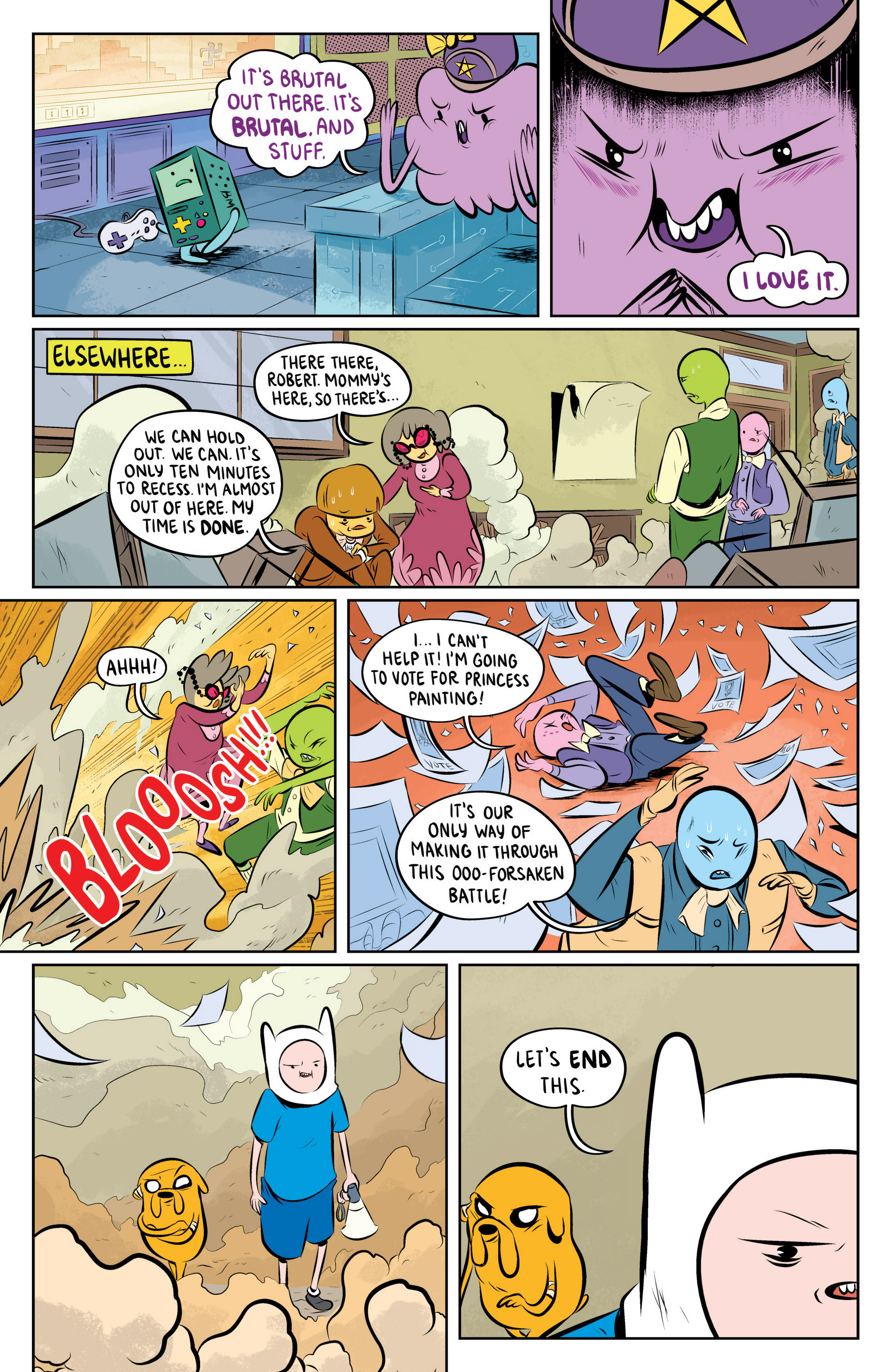 Read online Adventure Time: The Flip Side comic -  Issue #4 - 19