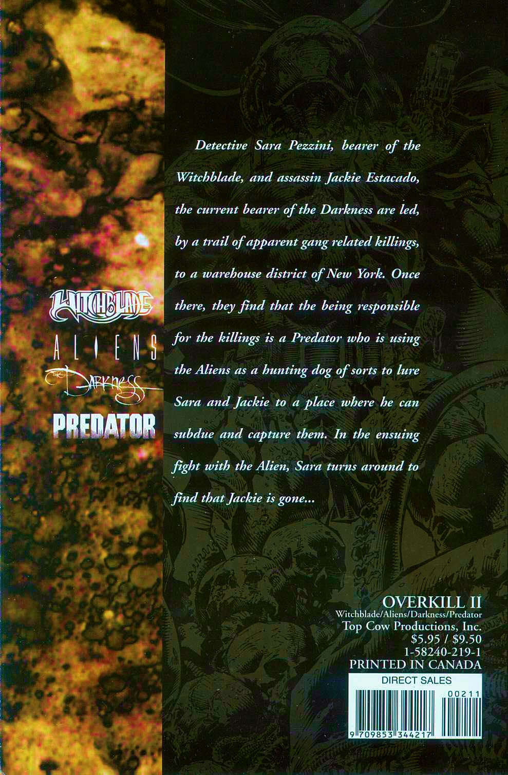 Read online Overkill: Witchblade/Aliens/Darkness/Predator comic -  Issue #2 - 48