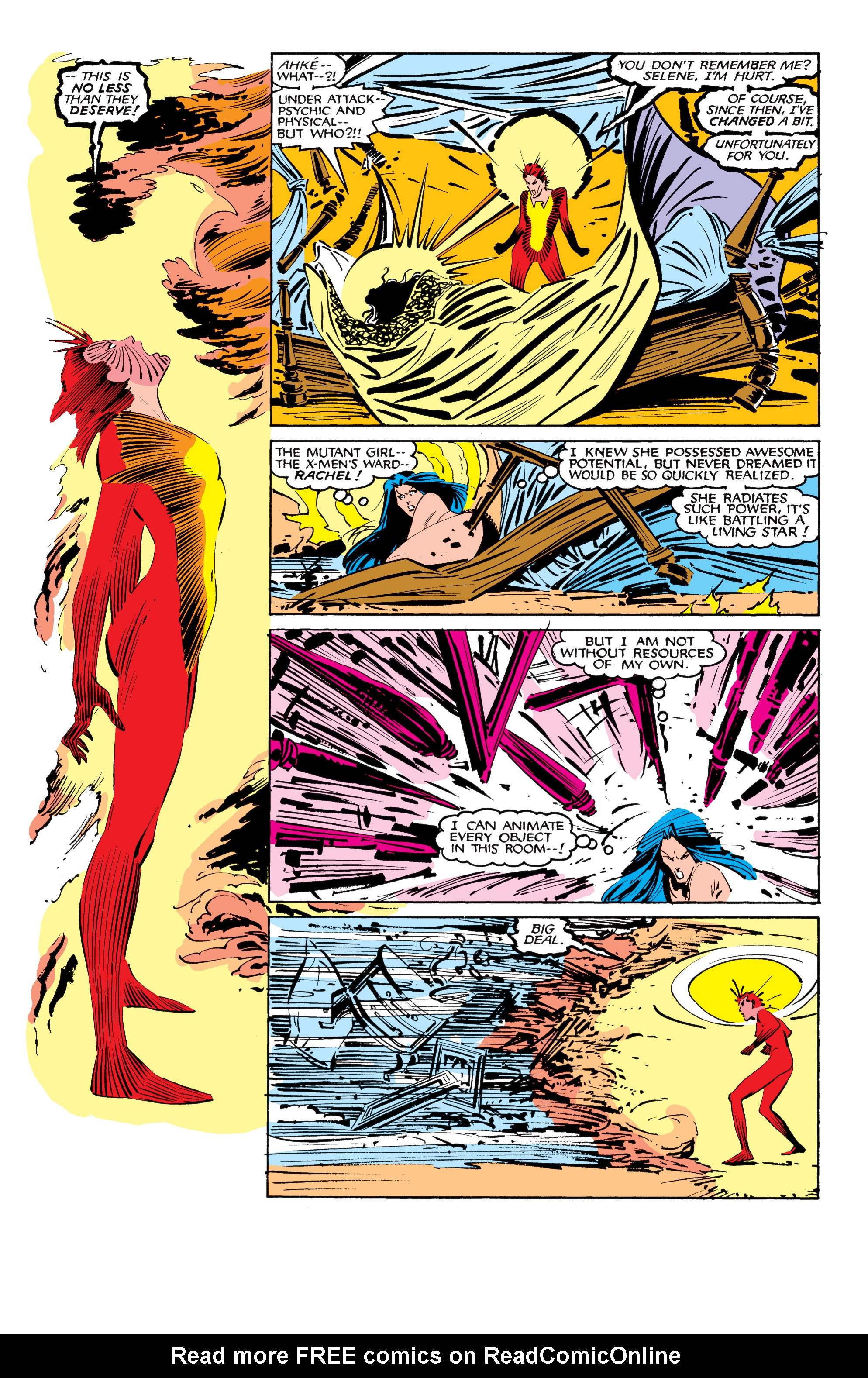 Read online Uncanny X-Men (1963) comic -  Issue #207 - 21