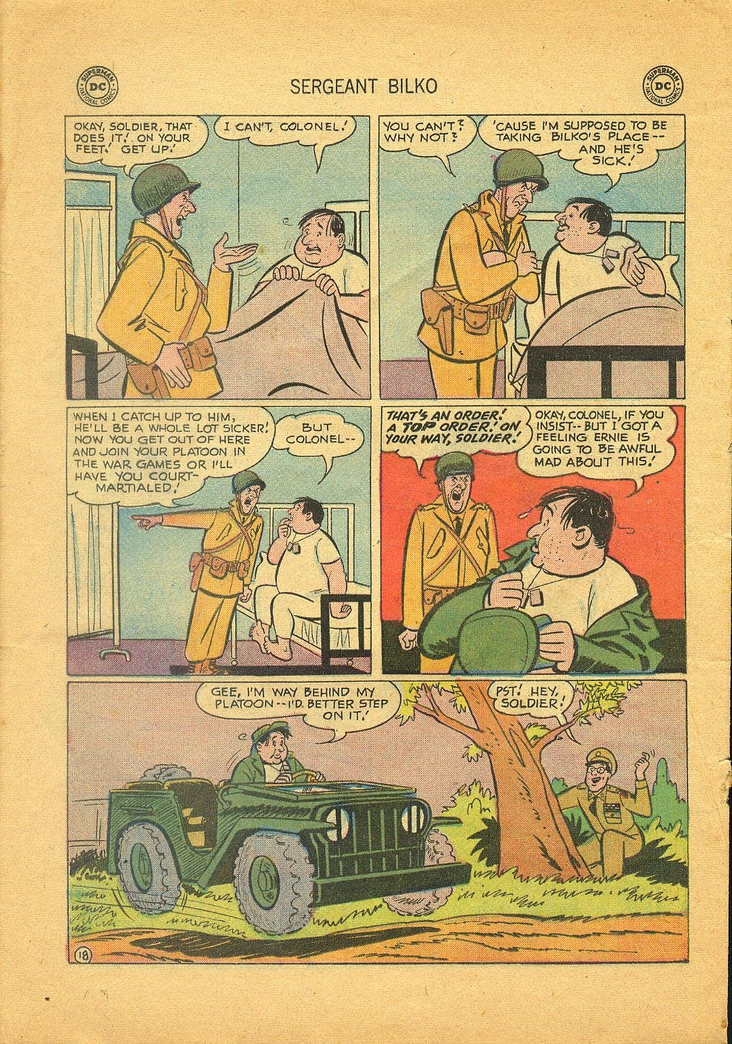 Sergeant Bilko issue 1 - Page 20