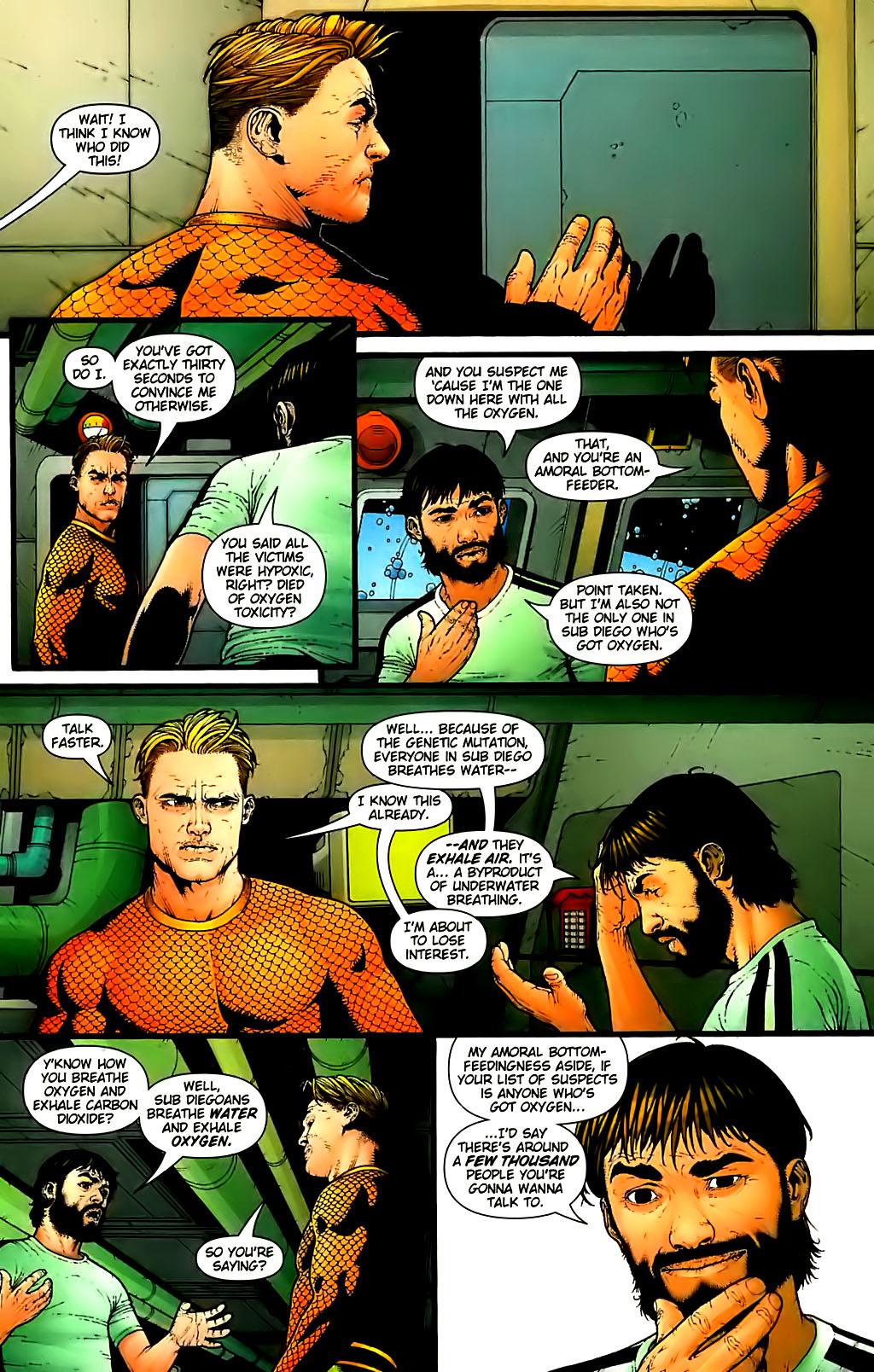 Read online Aquaman (2003) comic -  Issue #30 - 12