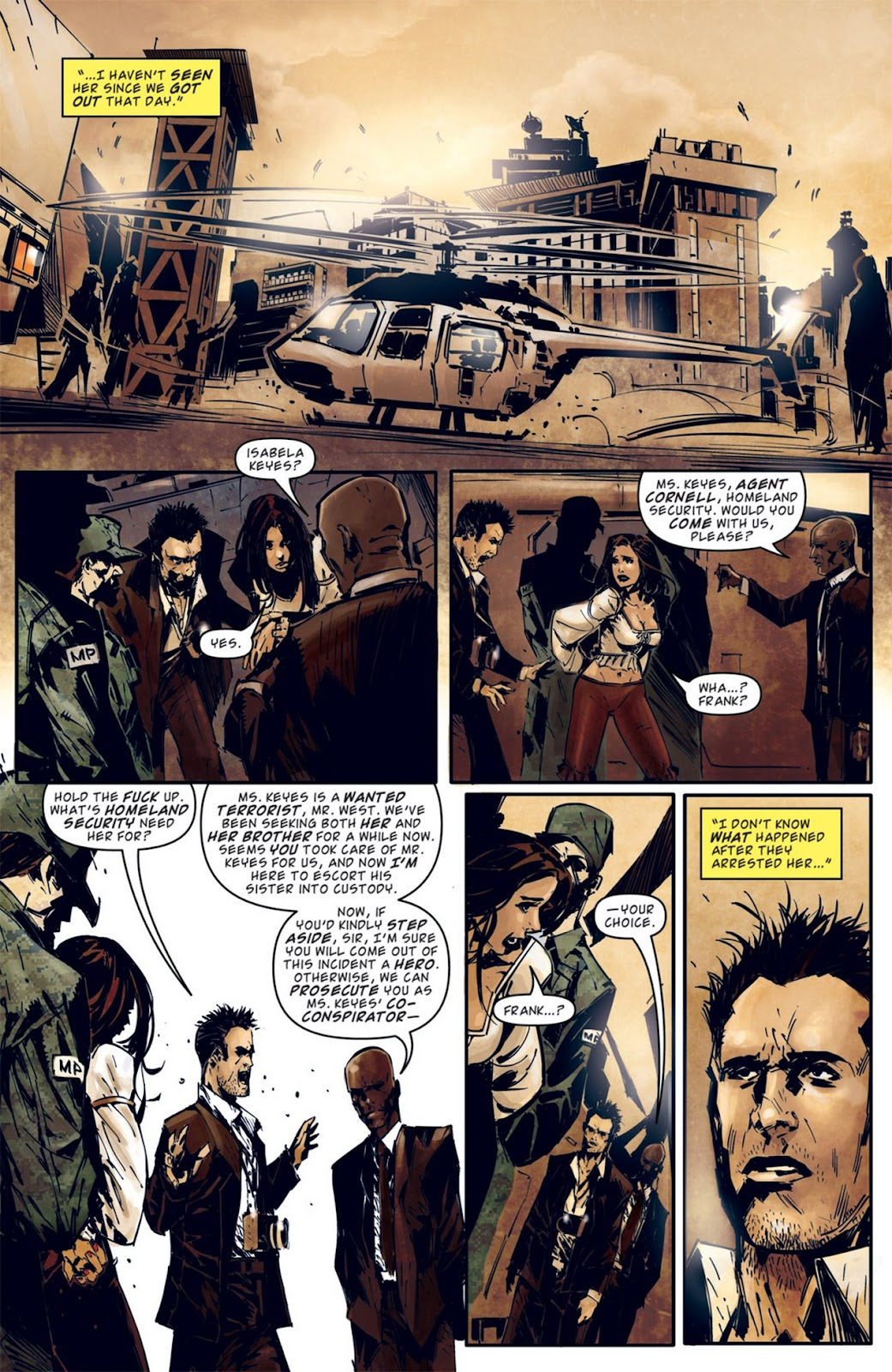 Read online Dead Rising: Road to Fortune comic -  Issue #2 - 21