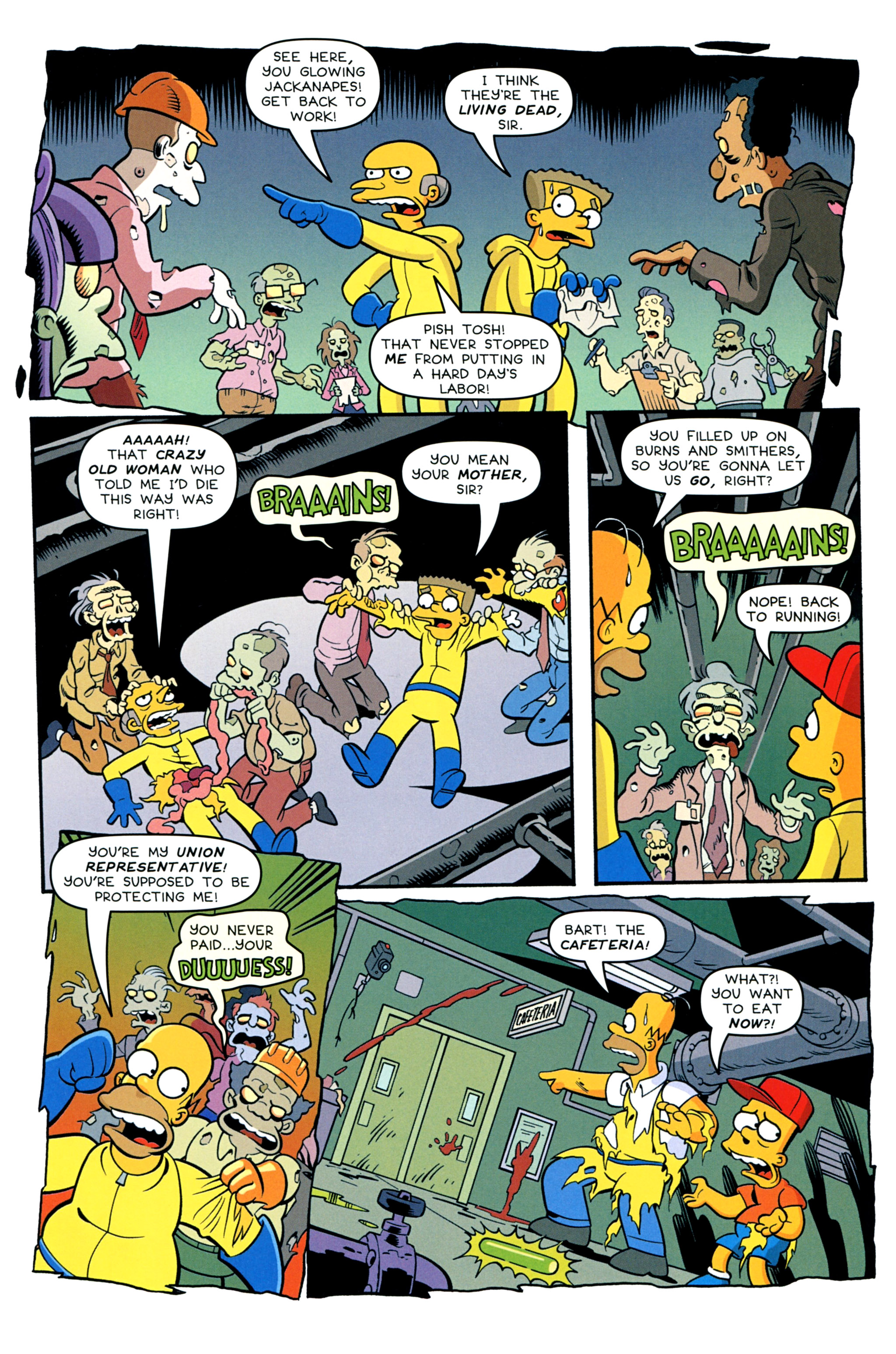 Read online Treehouse of Horror comic -  Issue #20 - 39